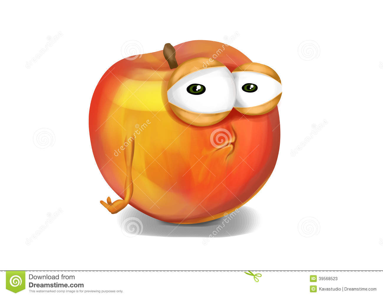 Disappointed Face Clipart Sad nectarine  a disappointed