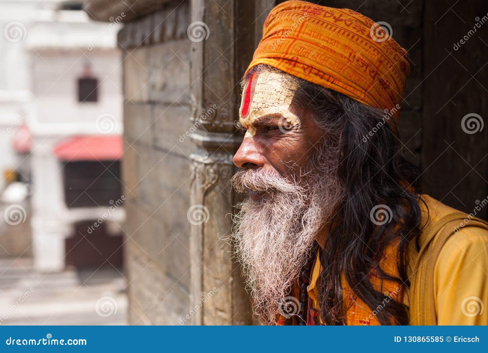 Sadhu em Pashupatinath