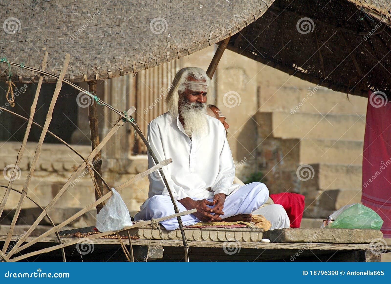 Sadhu em Varanasi