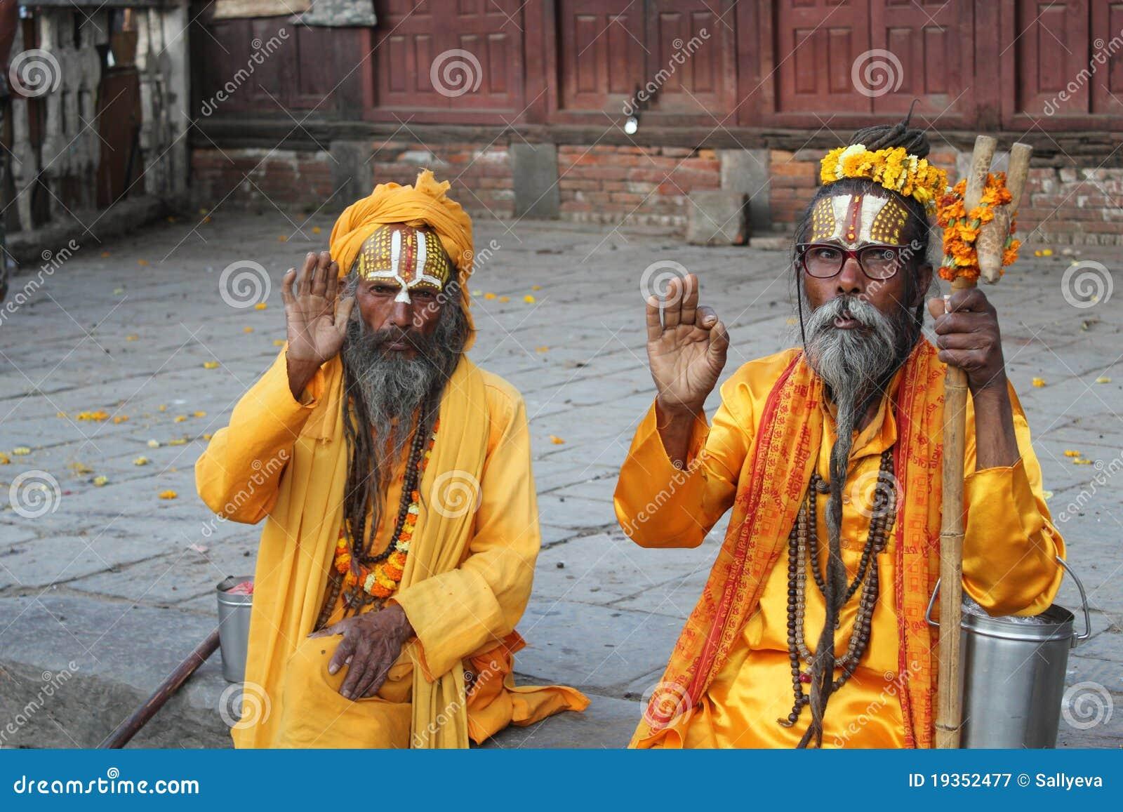 Sadhu (homens santamente)