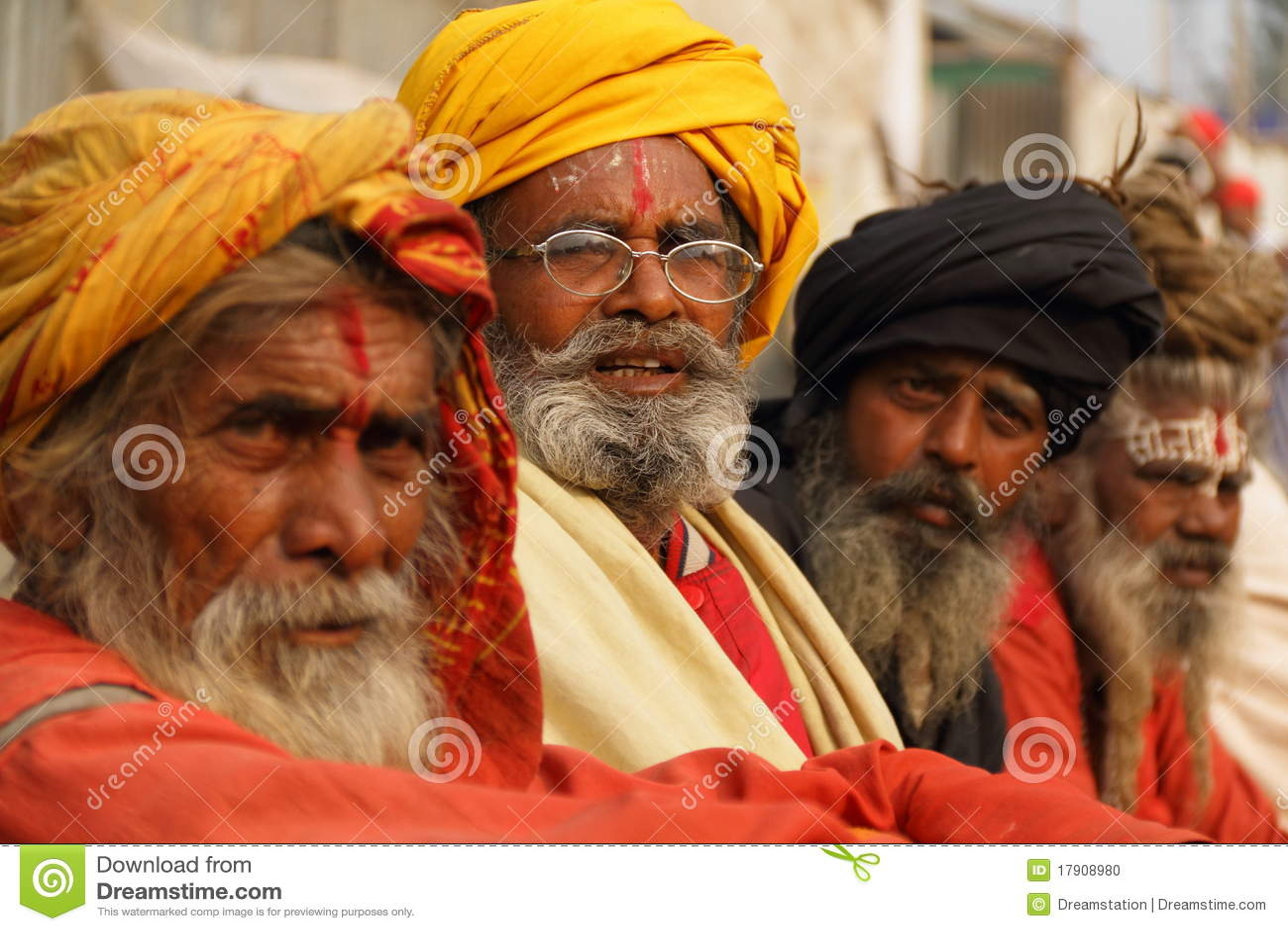 SADHUS, HEILIGE MENSEN VAN INDIA