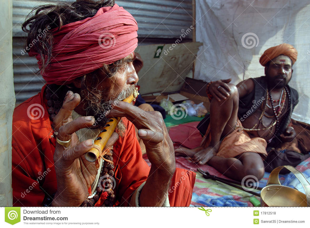 Sadhus Of India http://www.dreamstime.com/royalty-free-stock-photos-sadhus-holy-men-india-image17812518