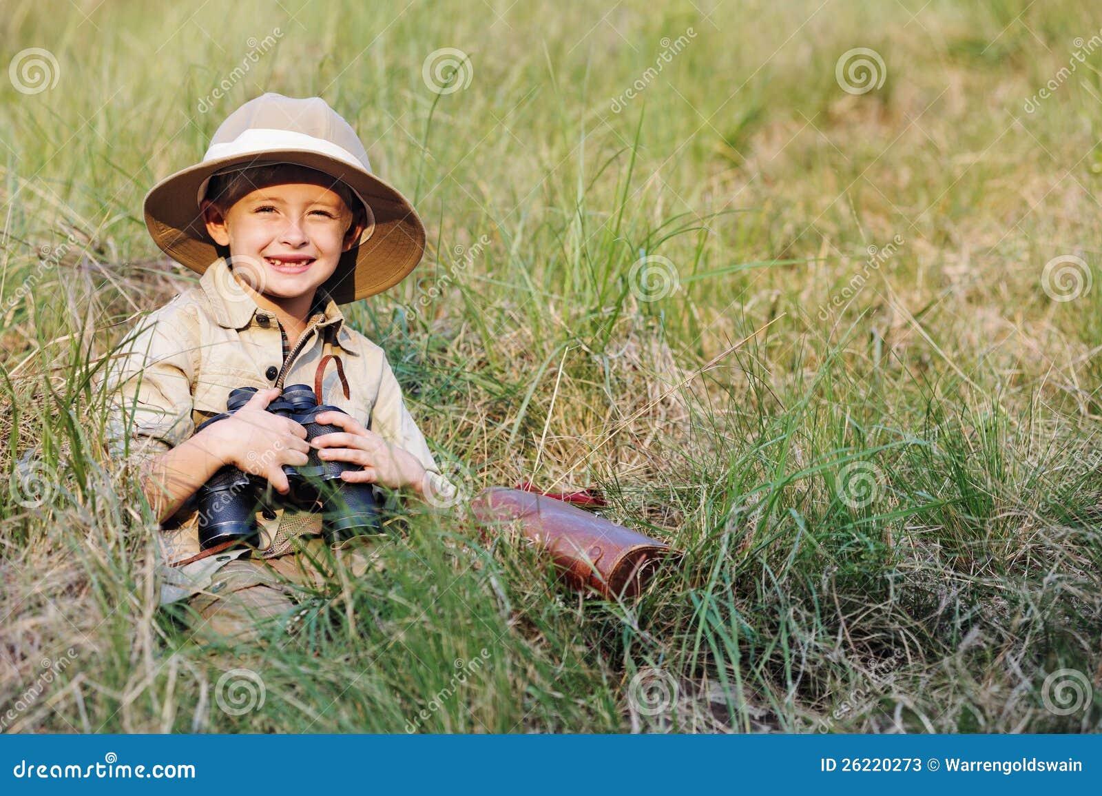 Safari boy
