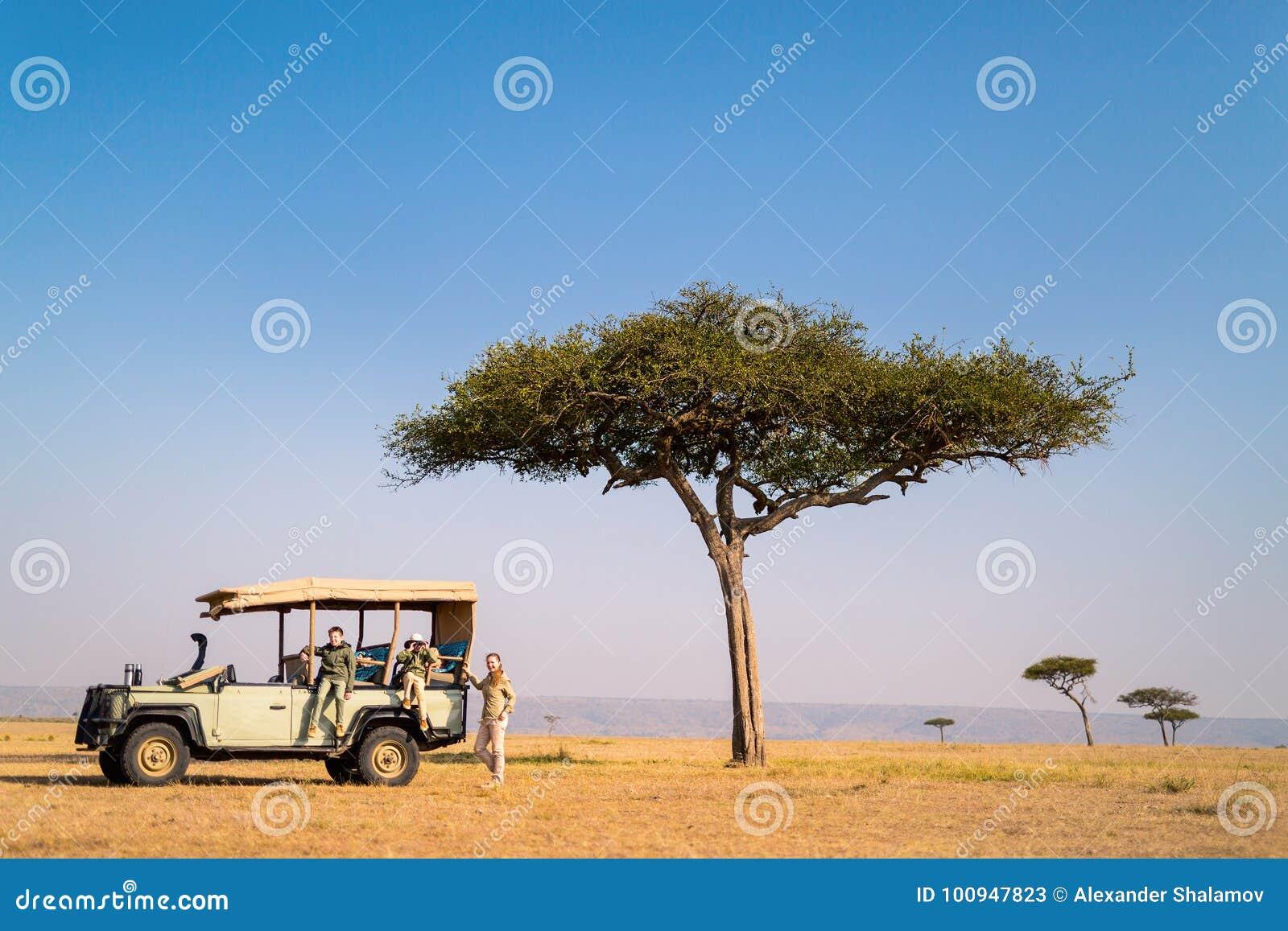Safari da família