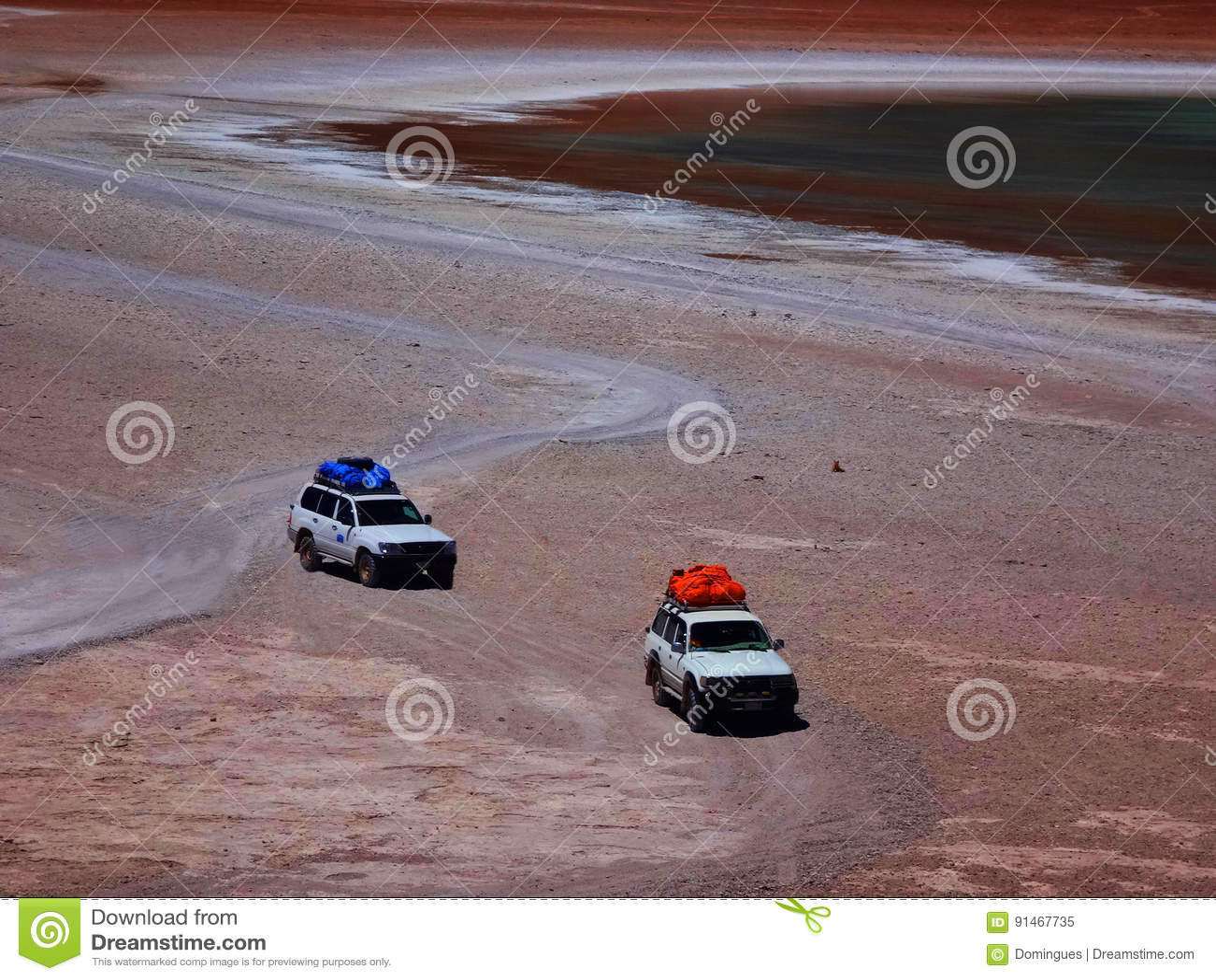 Safari de désert dans une jeep