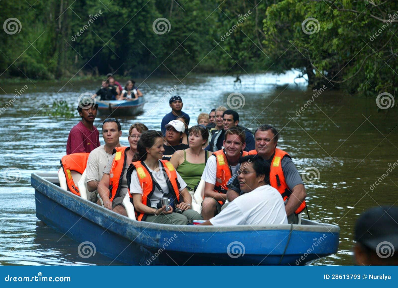Safari del río de Kinabatangan