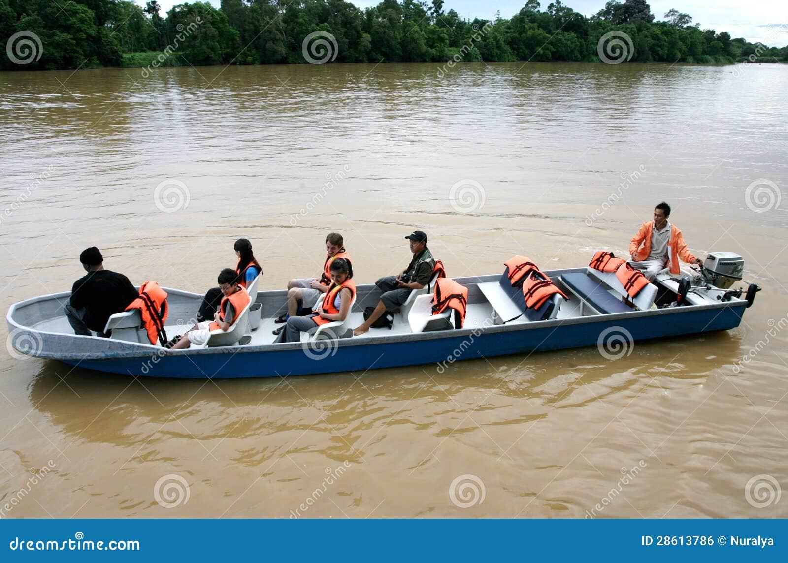 Safari do rio de Kinabatangan