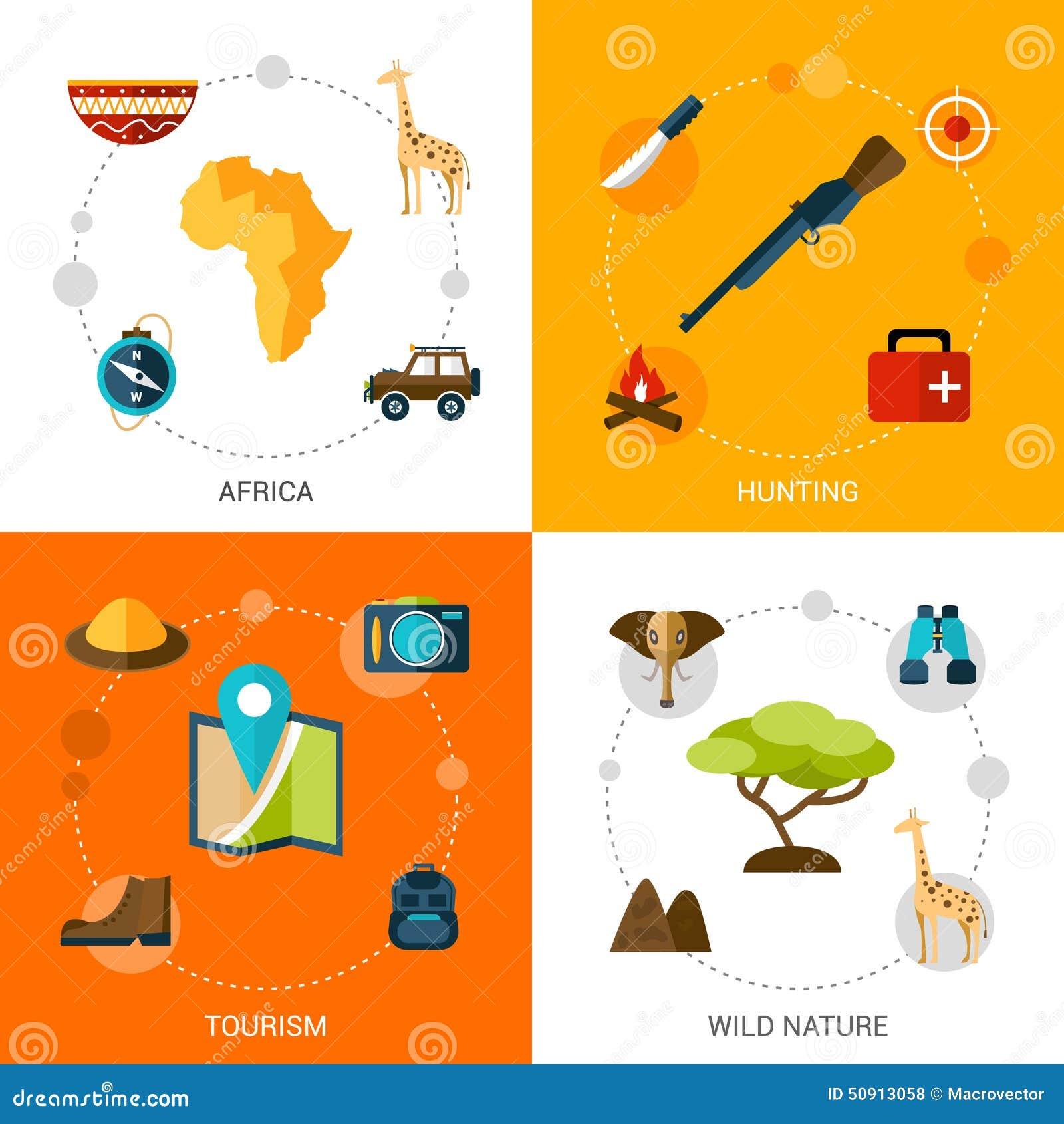 Safari Icons Set