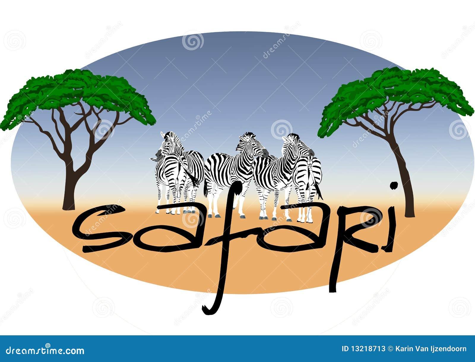 Safari logo Africa