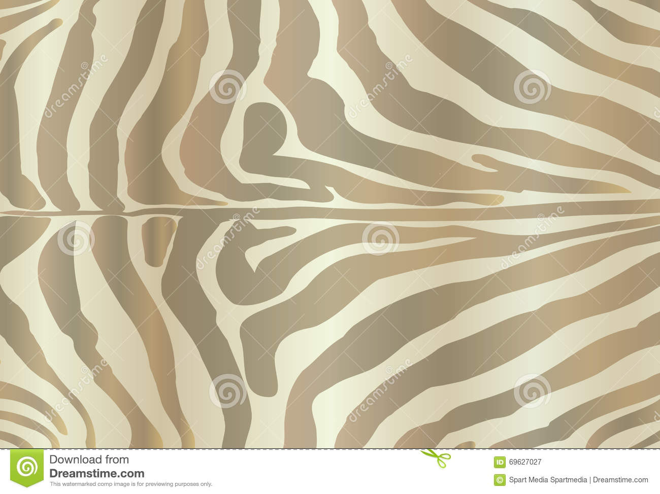 Safari ZEBRA Print Stock Vector Image Of Drawn Black