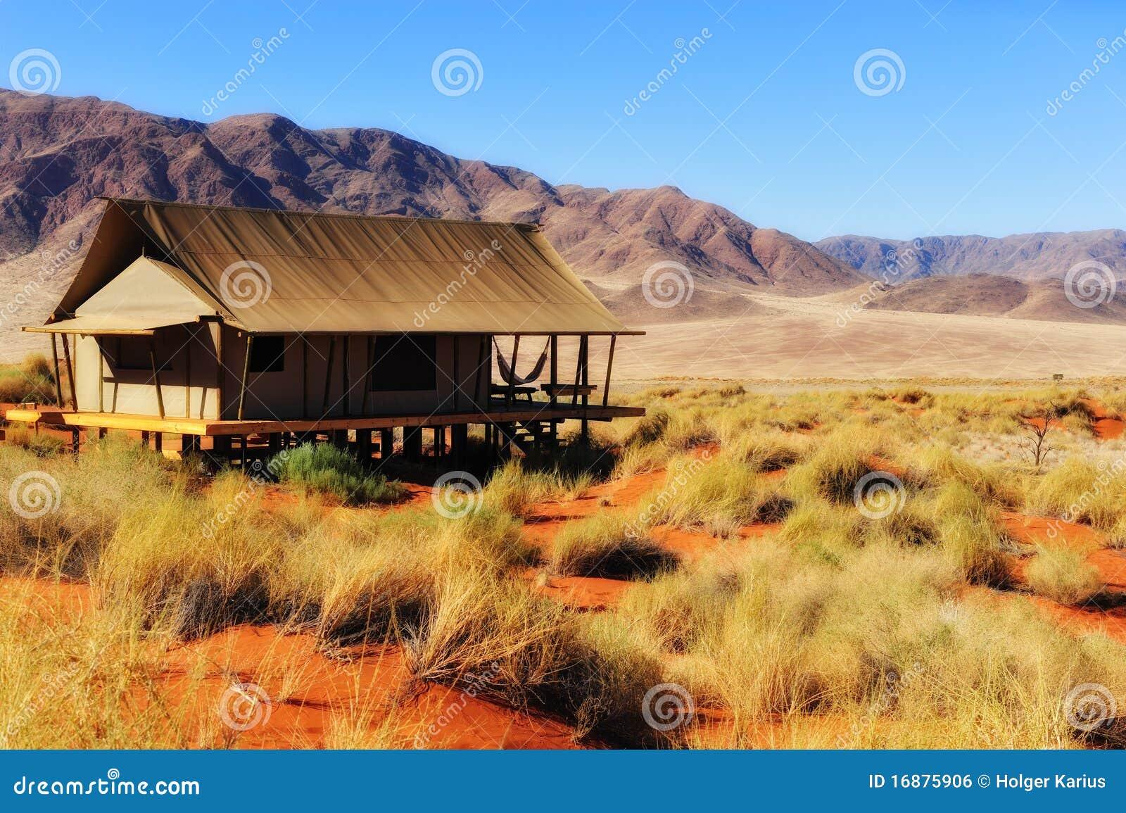 Safari Tent in the Namib Desert (Namibia)