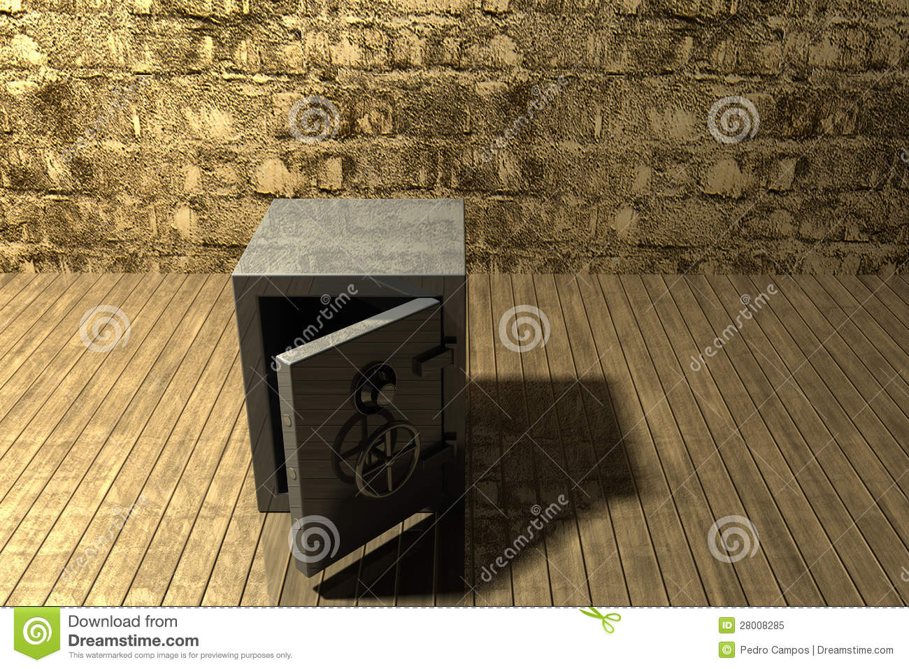 safe in the basement royalty free stock photo image 28008285