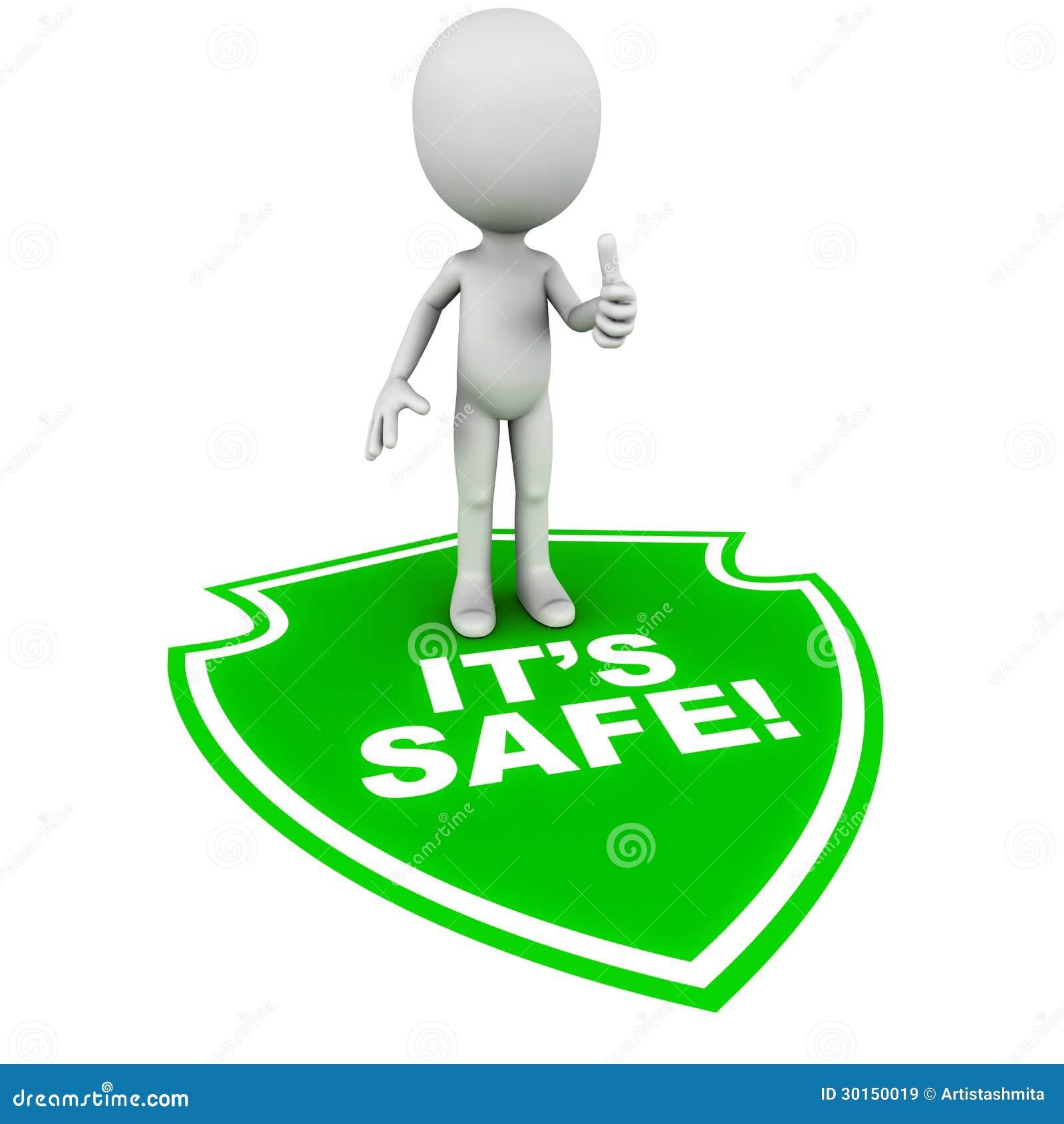 It S Safe Stock Illustration Illustration Of Sell Feel 30150019