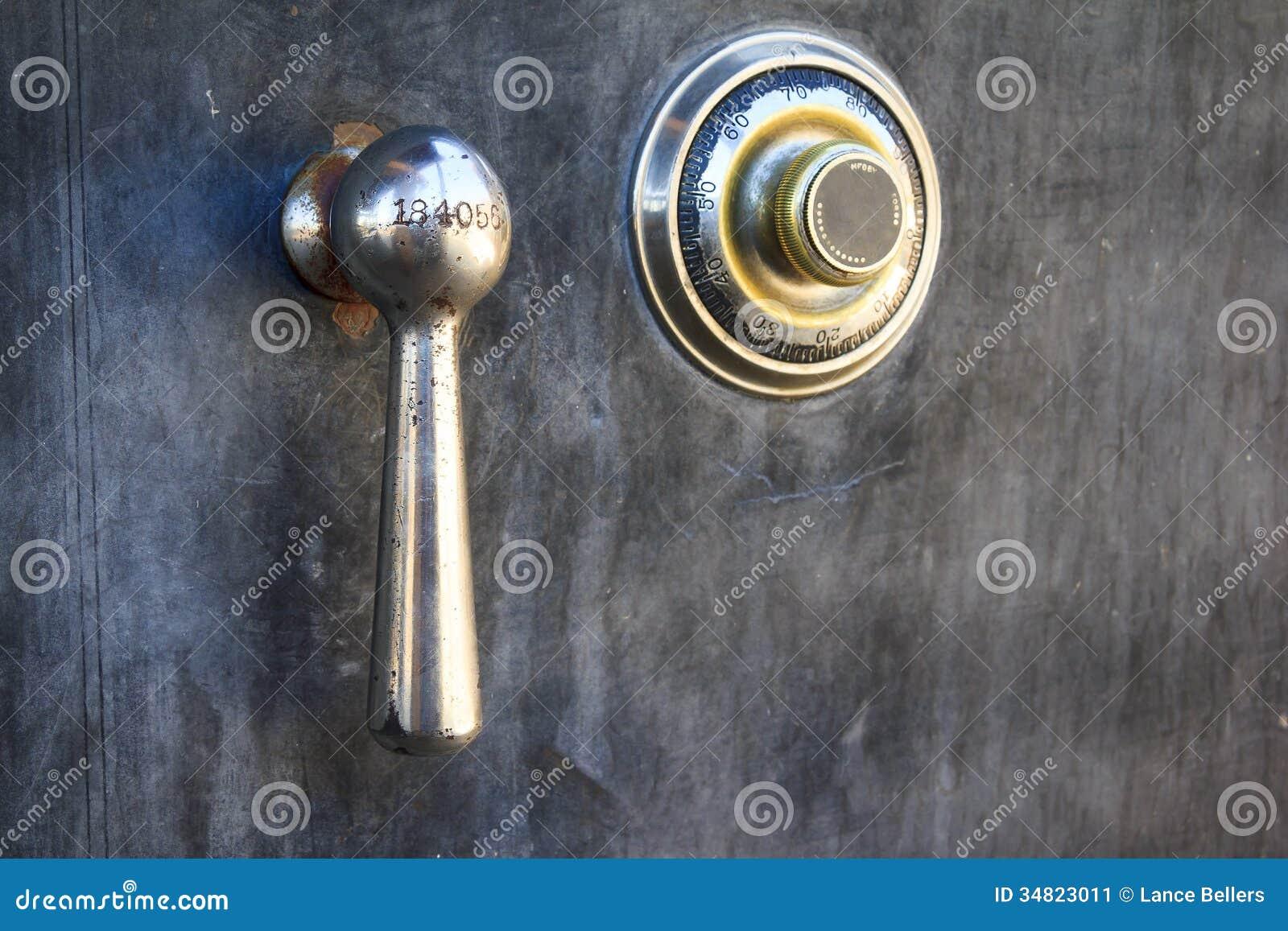 Safe Lock Stock Image Image Of Safe Steel Number Cash