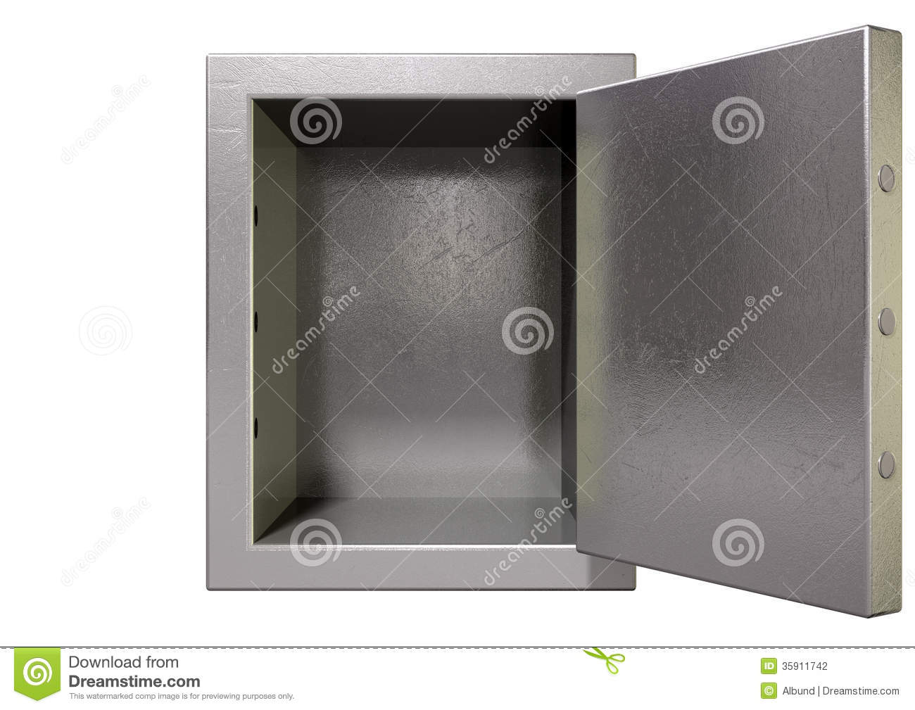 Empty Open Safe Royalty Free Stock Photography - Image: 11153307