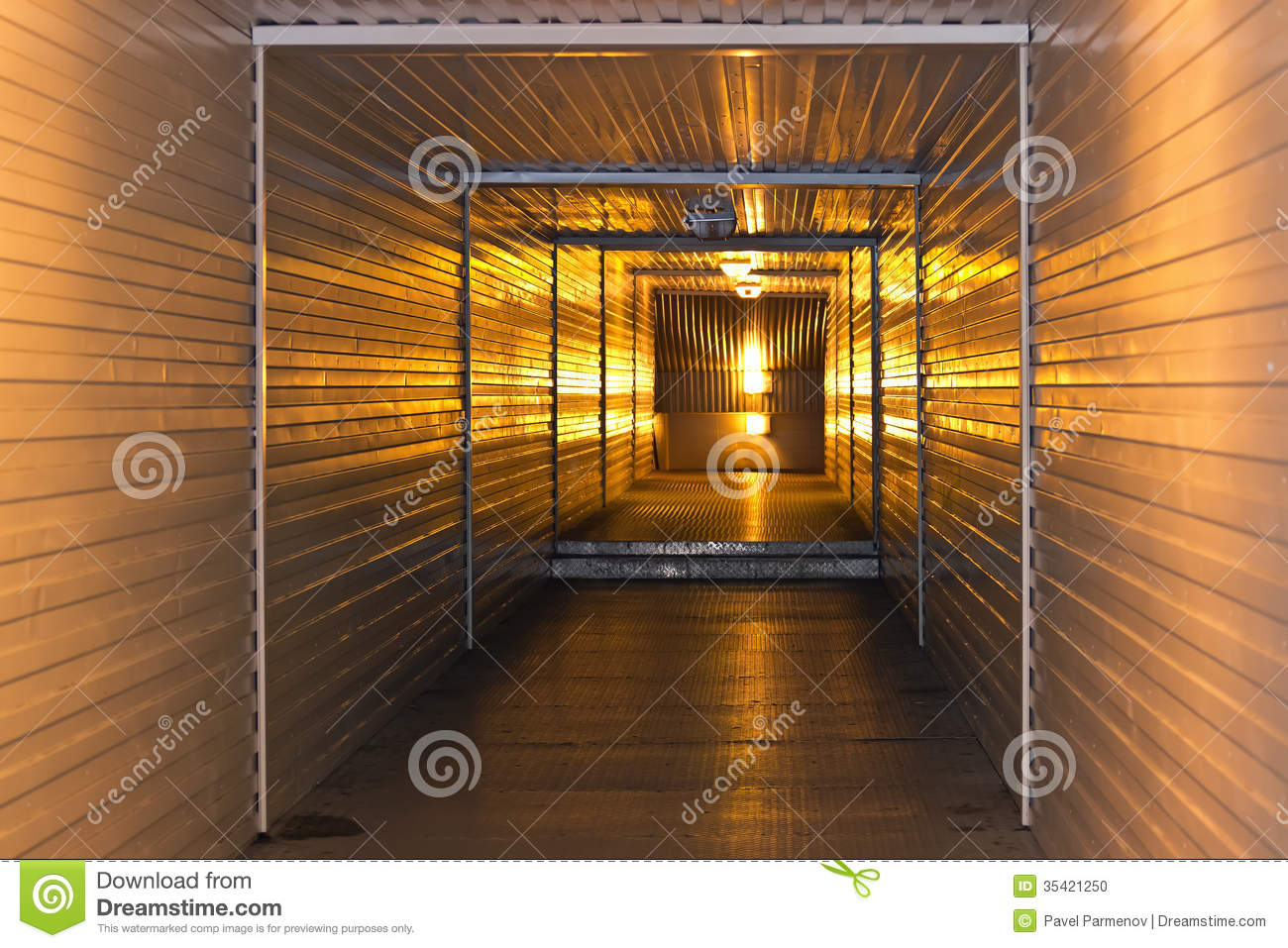 Covered Walkway Construction : Safe passage around construction stock photo image