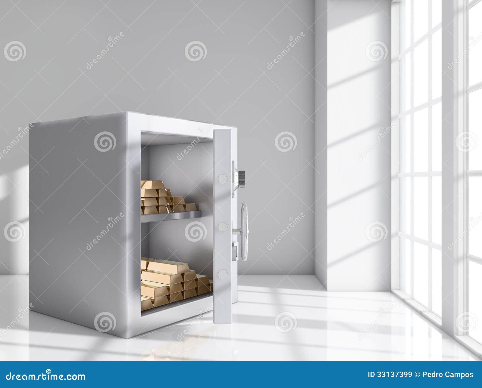 Safe room royalty free stock images image 33137399 for Buy safe room