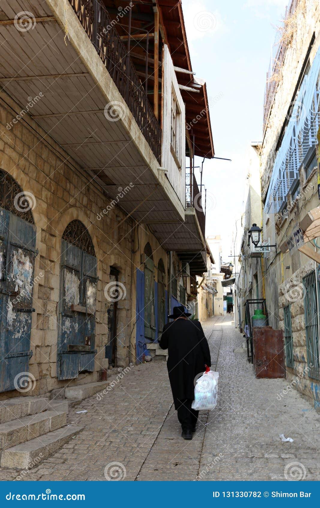 Safed - la ville de Kabbalists et d artistes