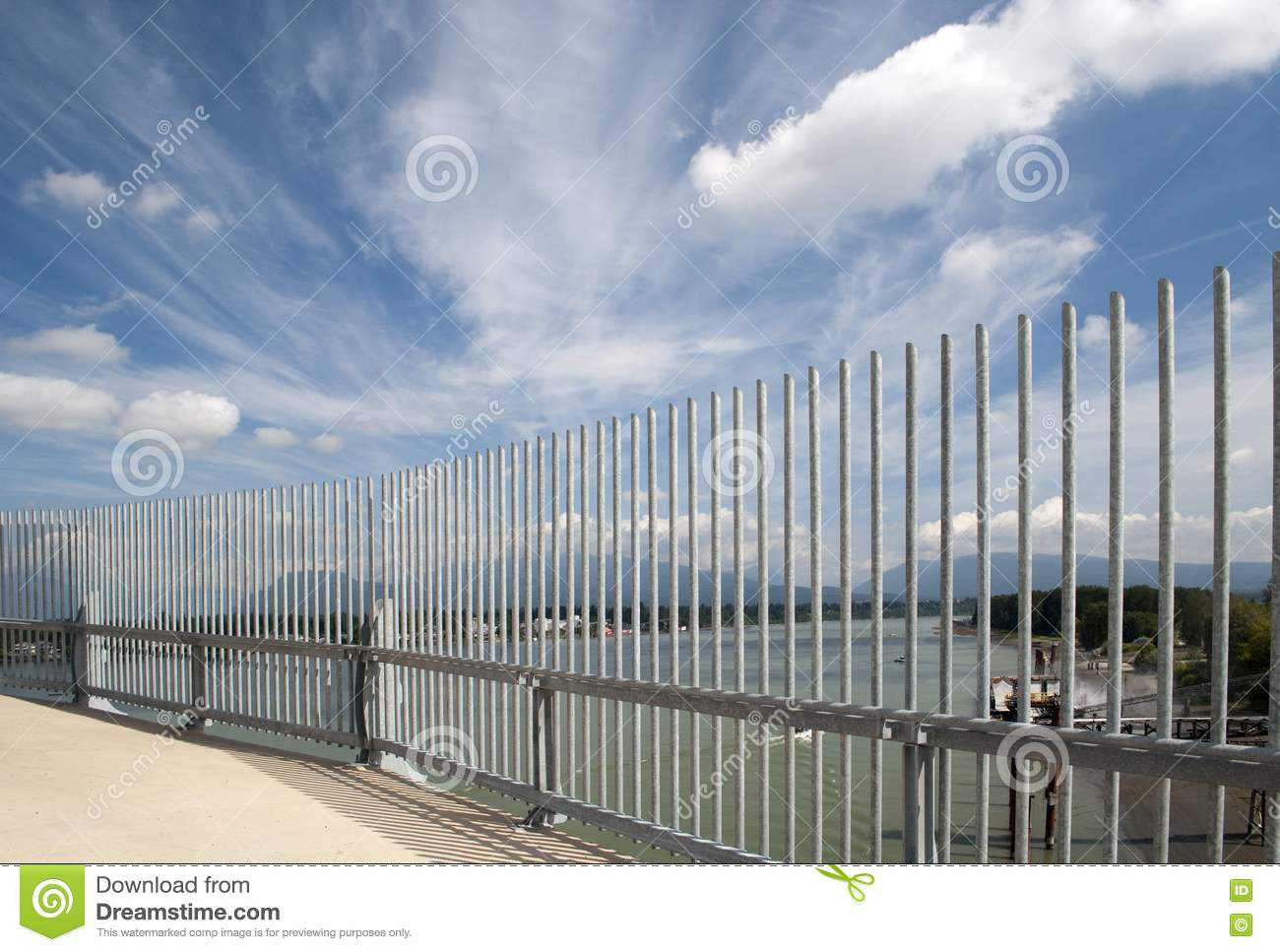 Safety fence stock photos image
