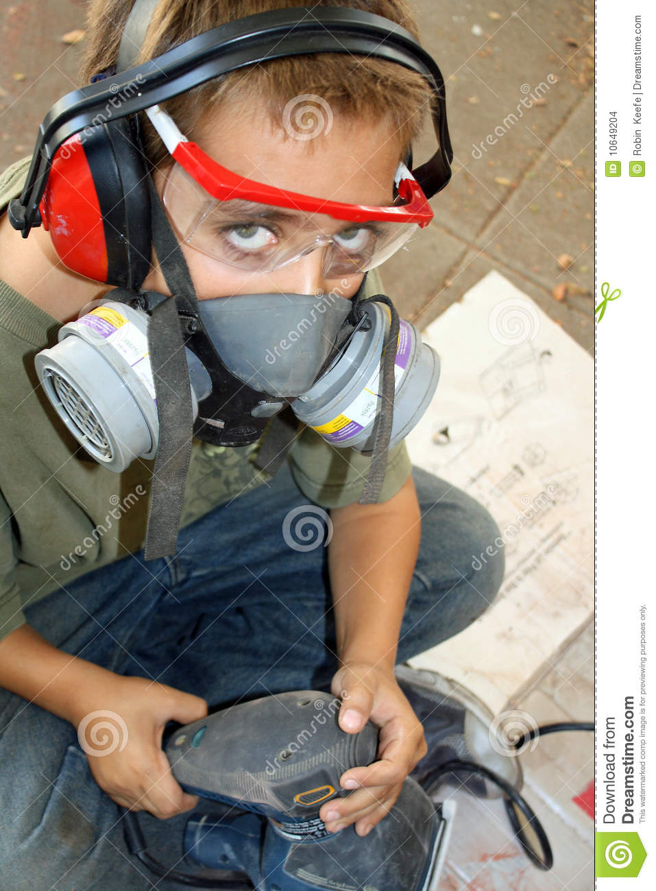 Safety First stock photo. Image of project, assemble - 10649204
