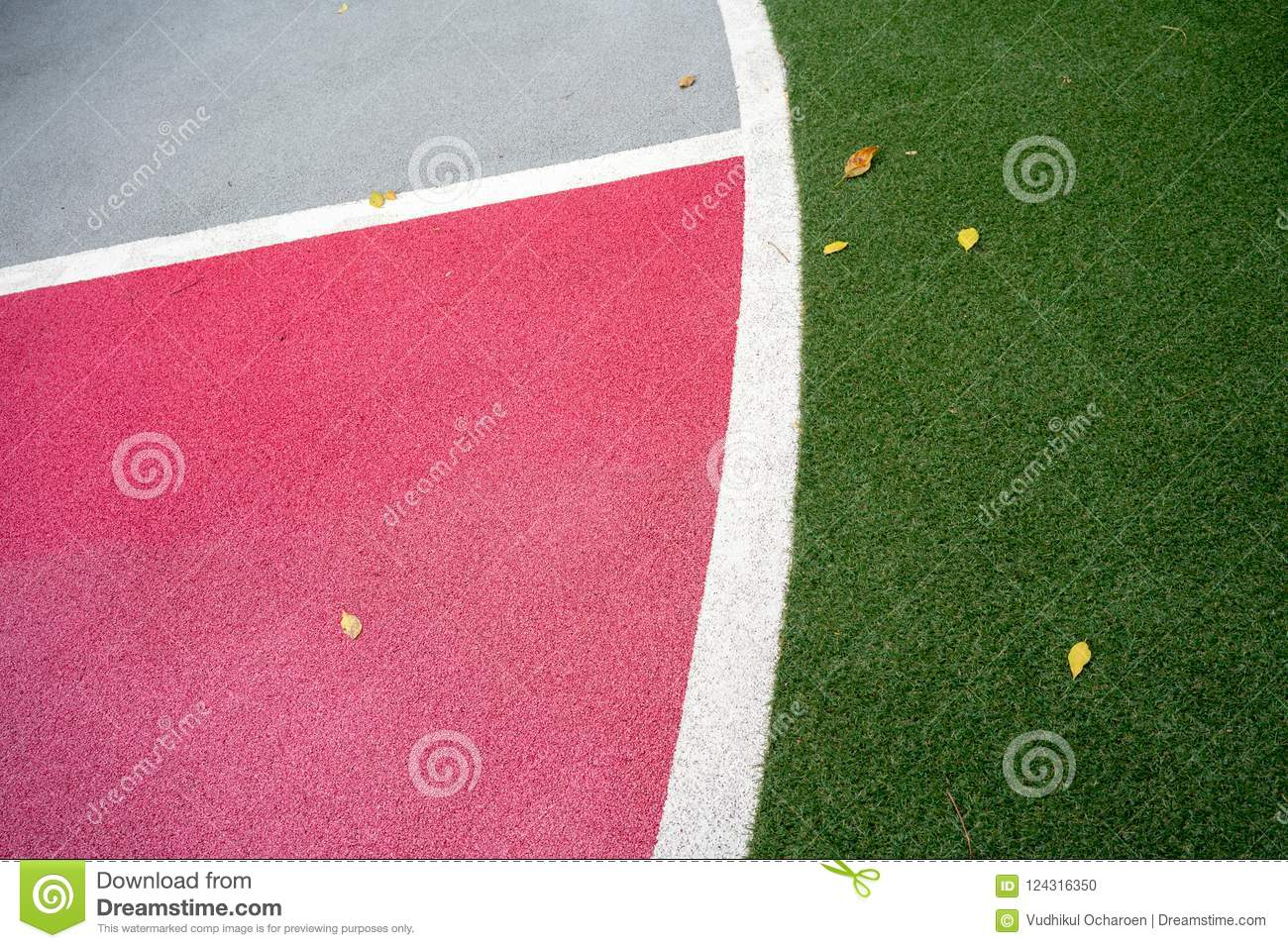 Safety playground and sports floor with soft rubber crumb for ba