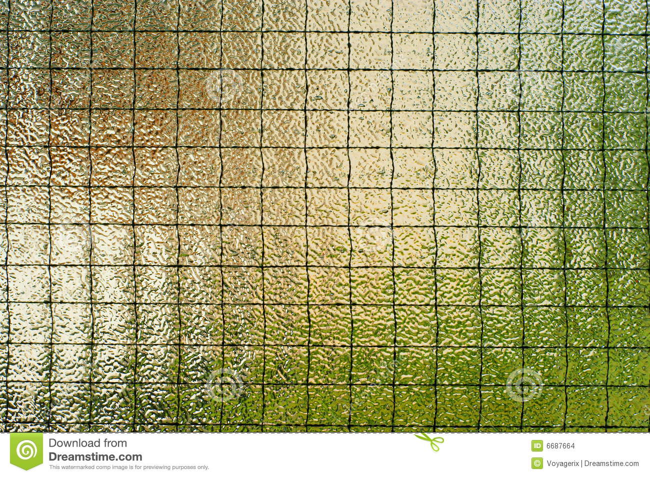 Safety Wire Glass Wall Stock Photo Image Of Decor