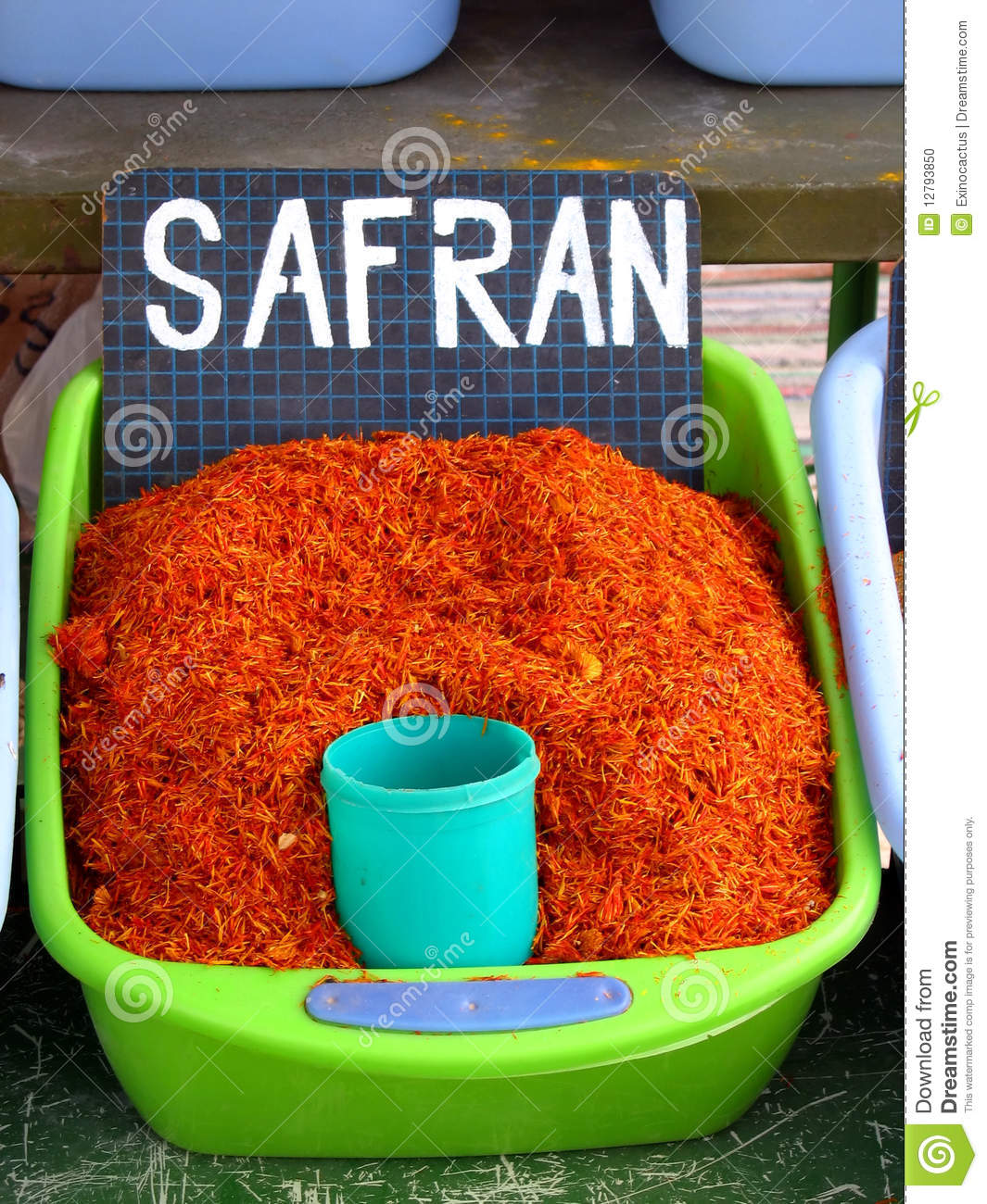 Safran spice stock photo. Image of cooking, flavour ...