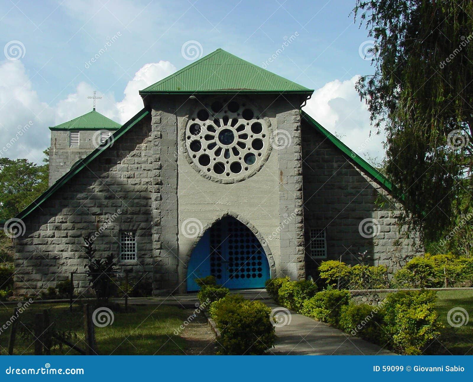 Sagada церков