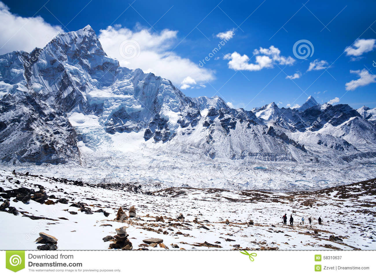 sagarmatha national park  nepal himalaya stock photo clipart mountains creek clipart mountains creek