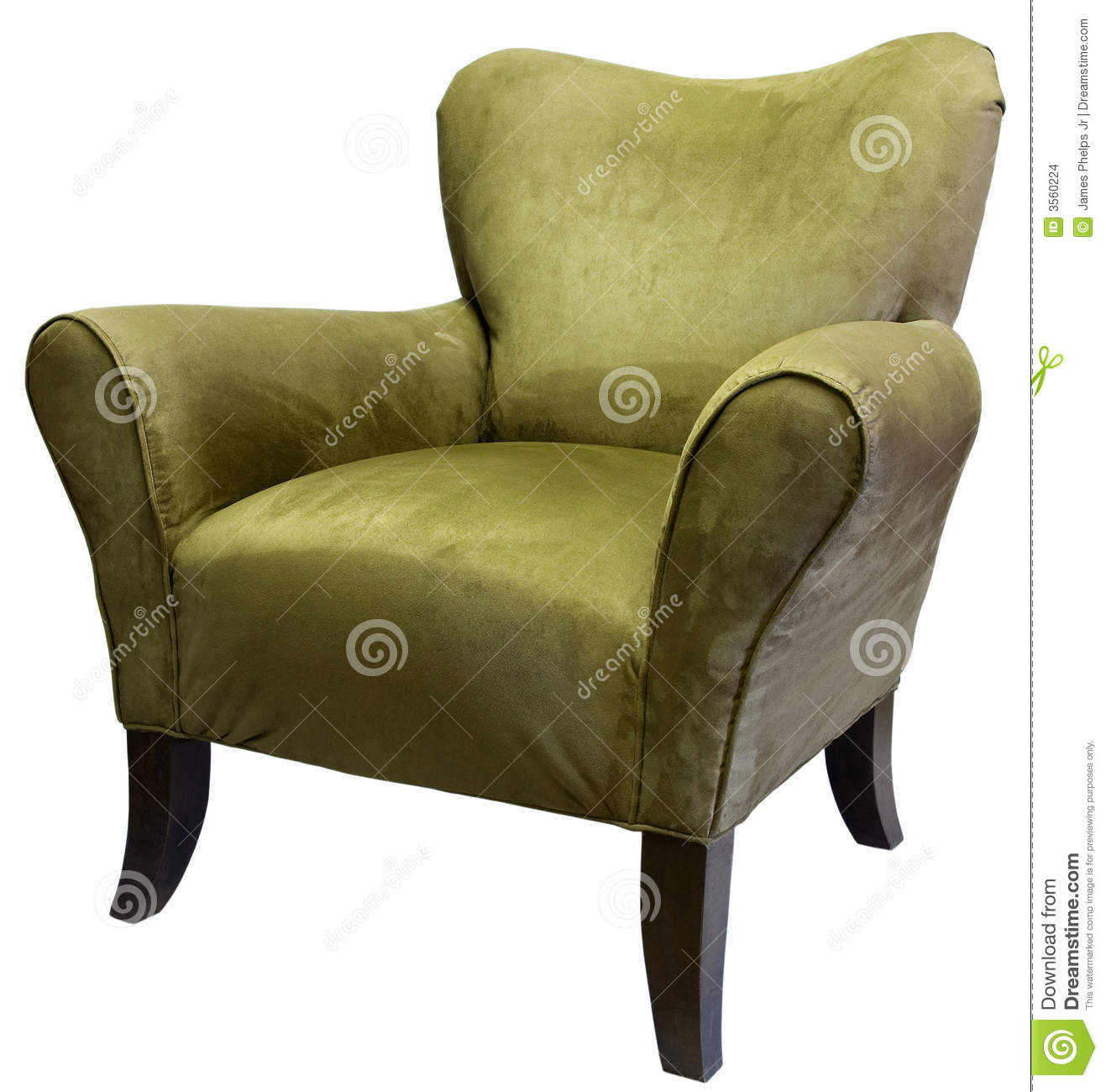 Royalty Free Stock Photo. Download Sage Accent Chair ...
