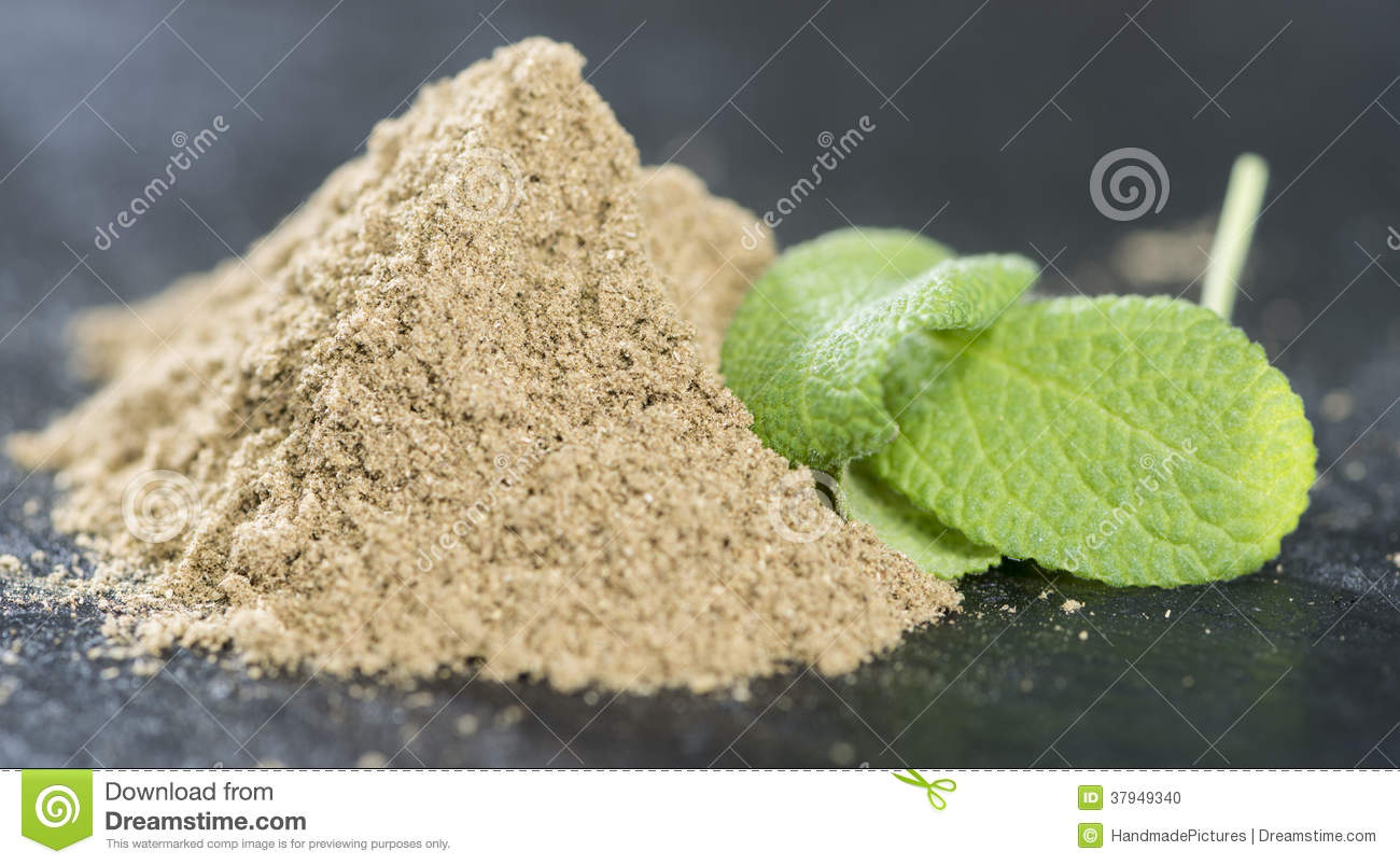 Heap Of Sage Powder (loopable) Stock Footage Video 5817311 ...