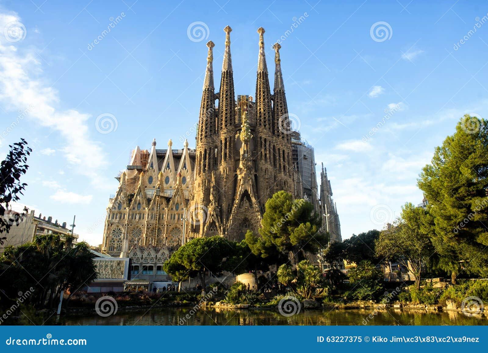 Sagrada Familia à Barcelone, Espagne