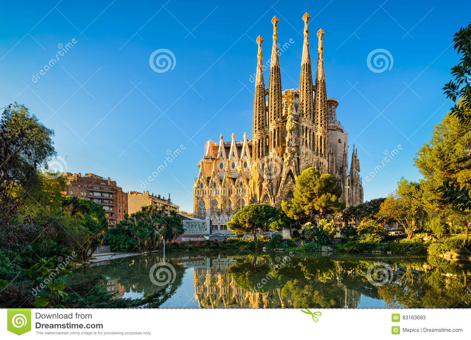 Sagrada Familia in Barcelona, Spain