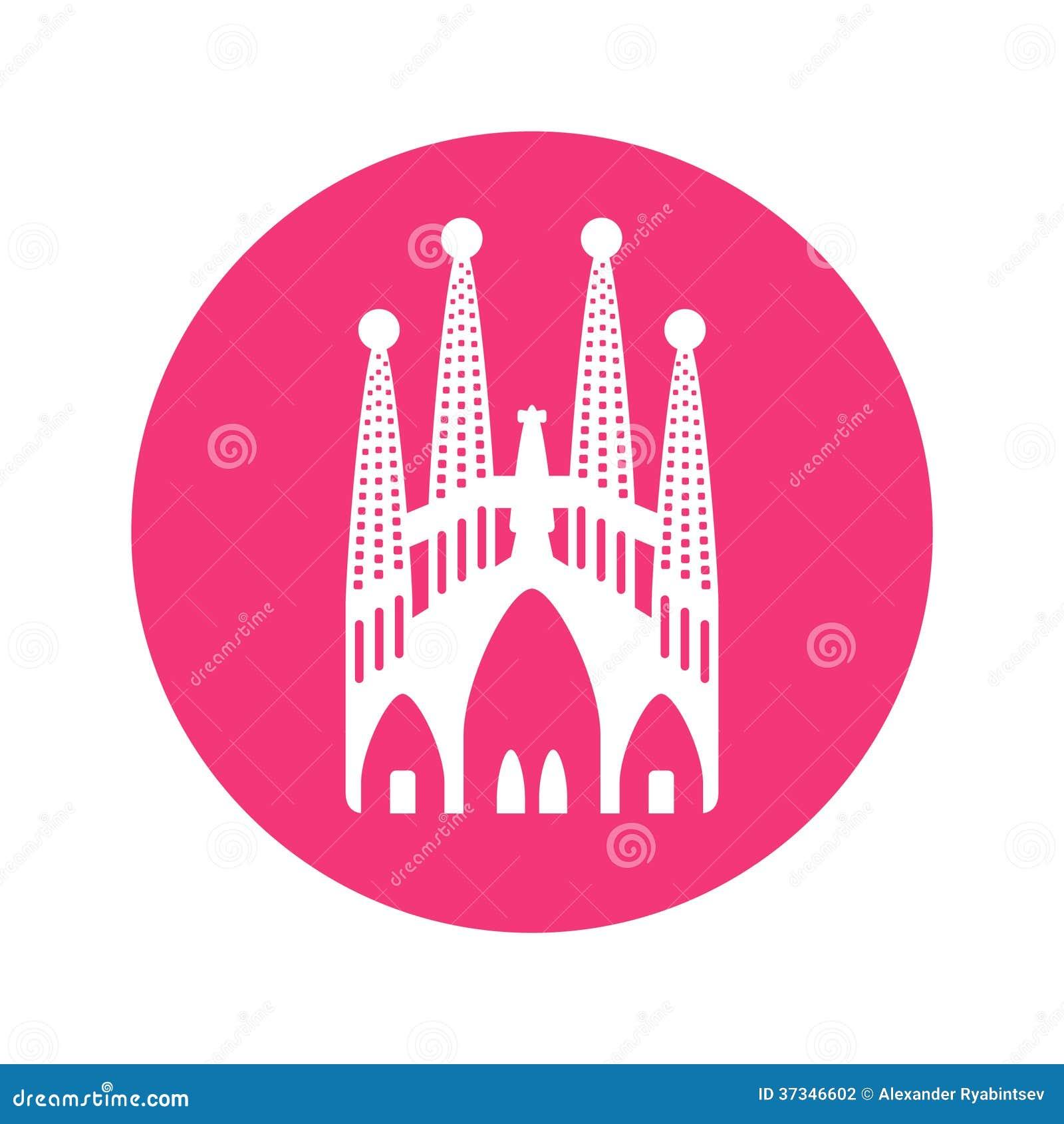 Sagrada Familia basilika, illustration