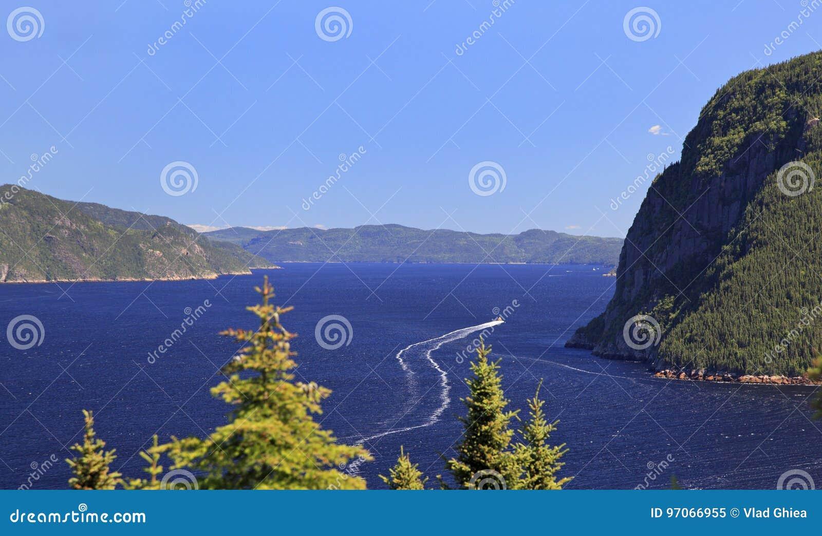 Saguenay Fjord, Quebec