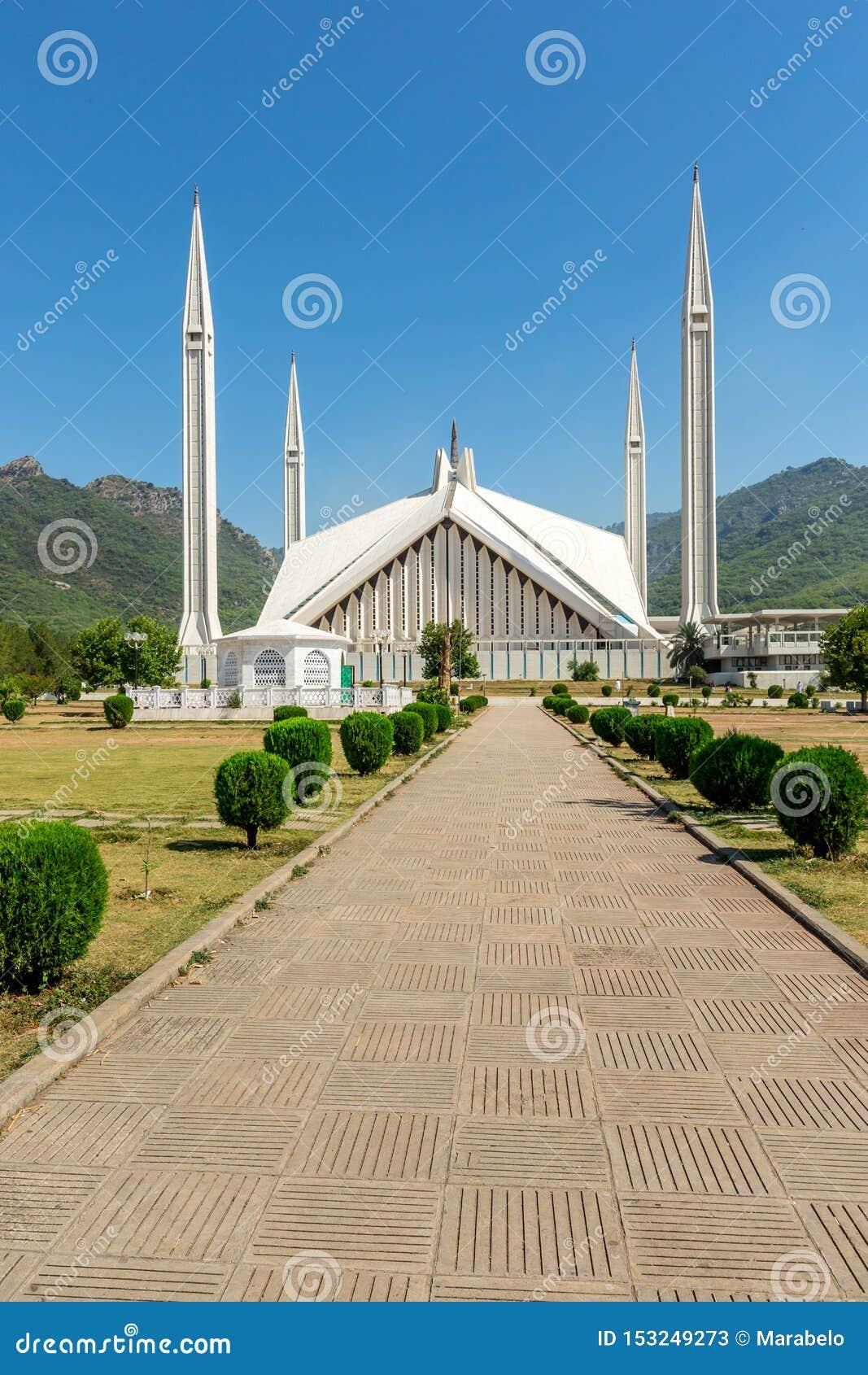 Sah Faisal Mosque en Islamabad, Paquistán