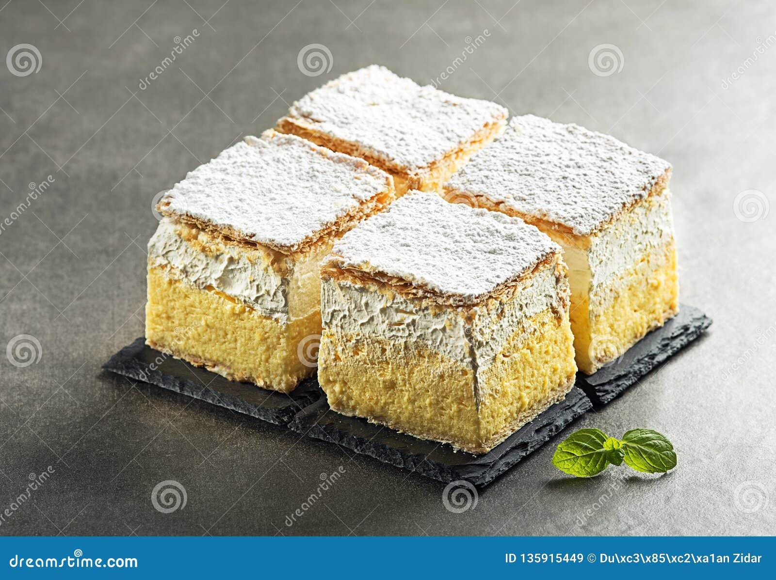 Sahnekuchenscheiben