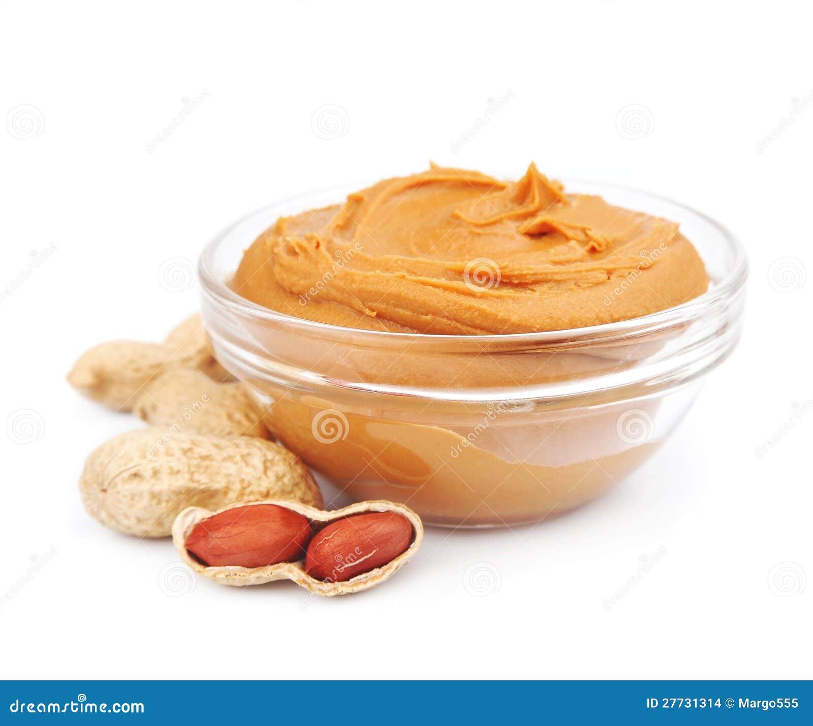 Sahnige Erdnussbutter mit Muttern