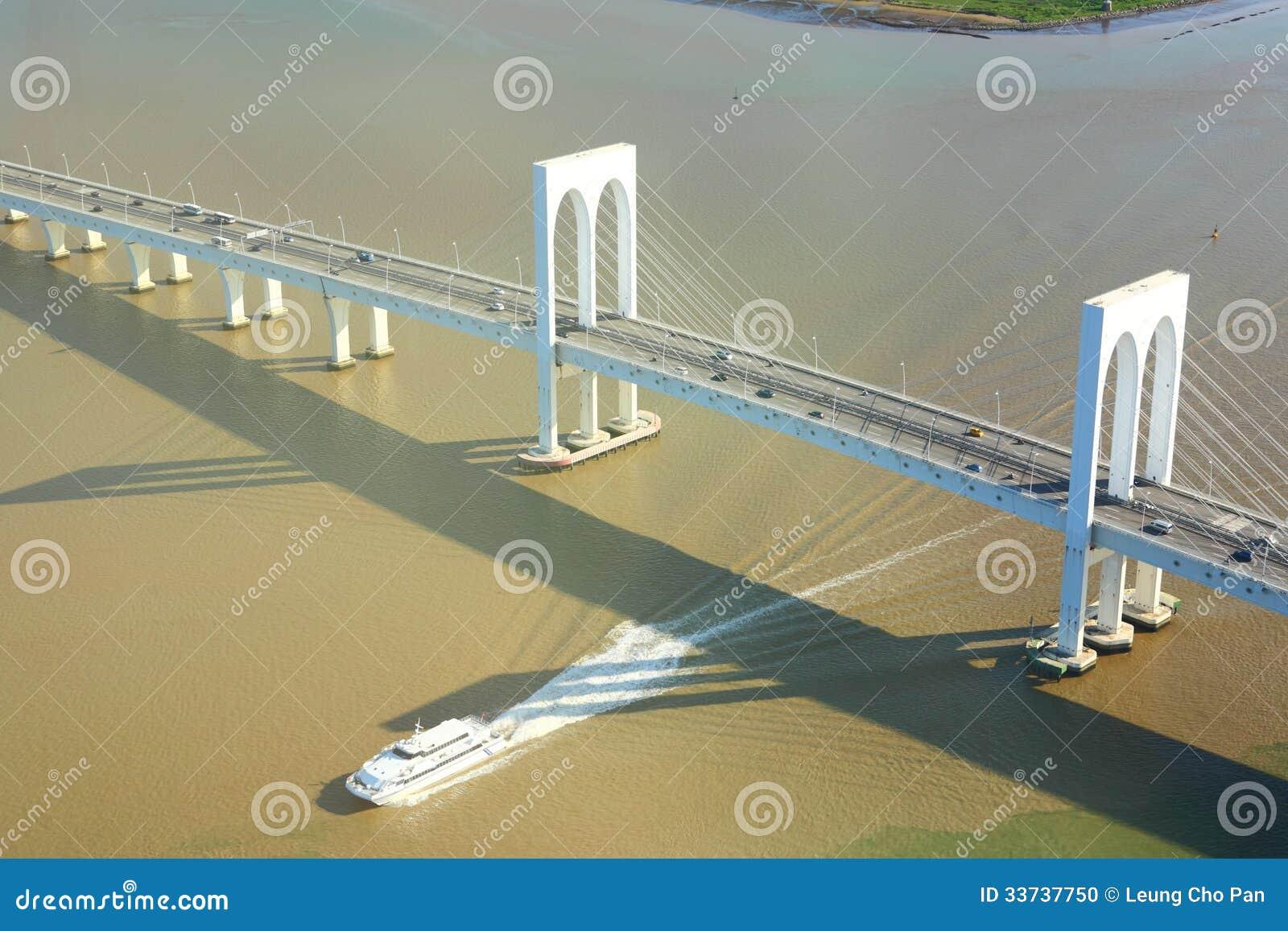 Sai Van мост в Макао
