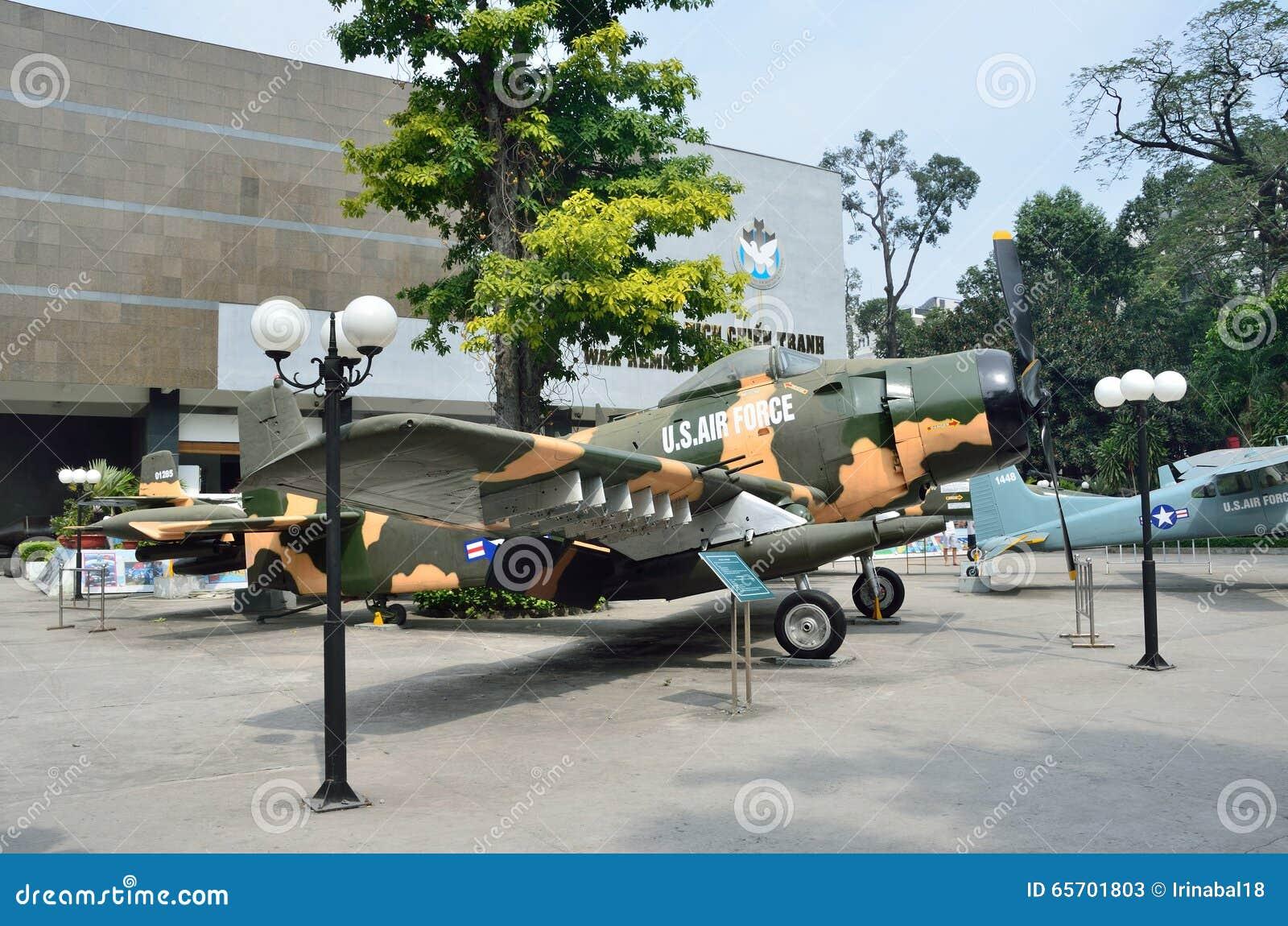 Saigon, Vietnam, January, 20, 2015  Nobody, American Planes