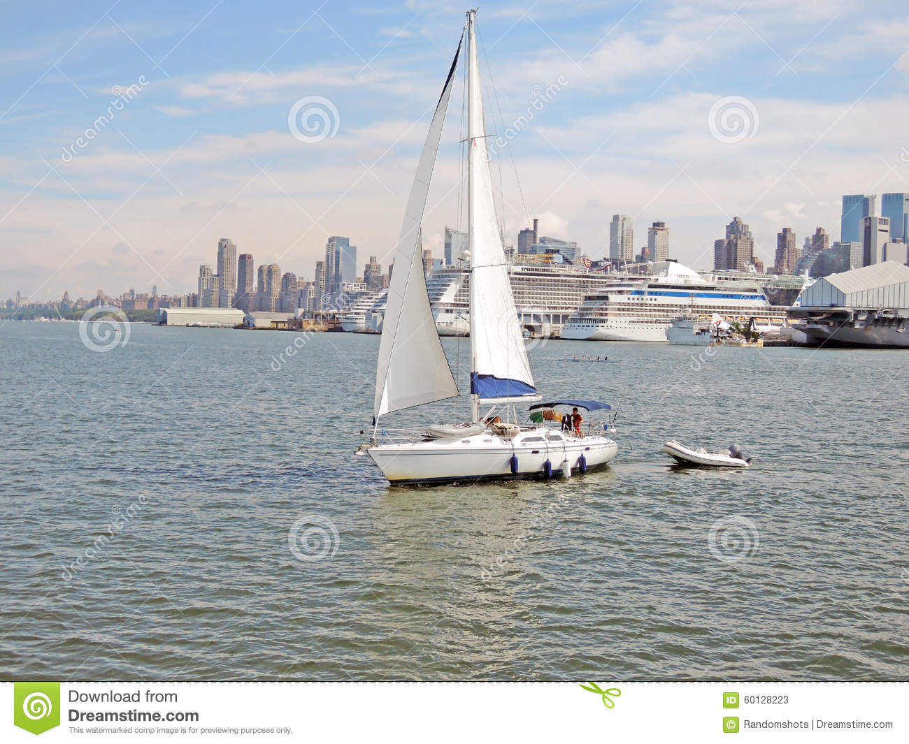 Sail boat editorial stock photo image of relax sunny for Nys fishing license prices