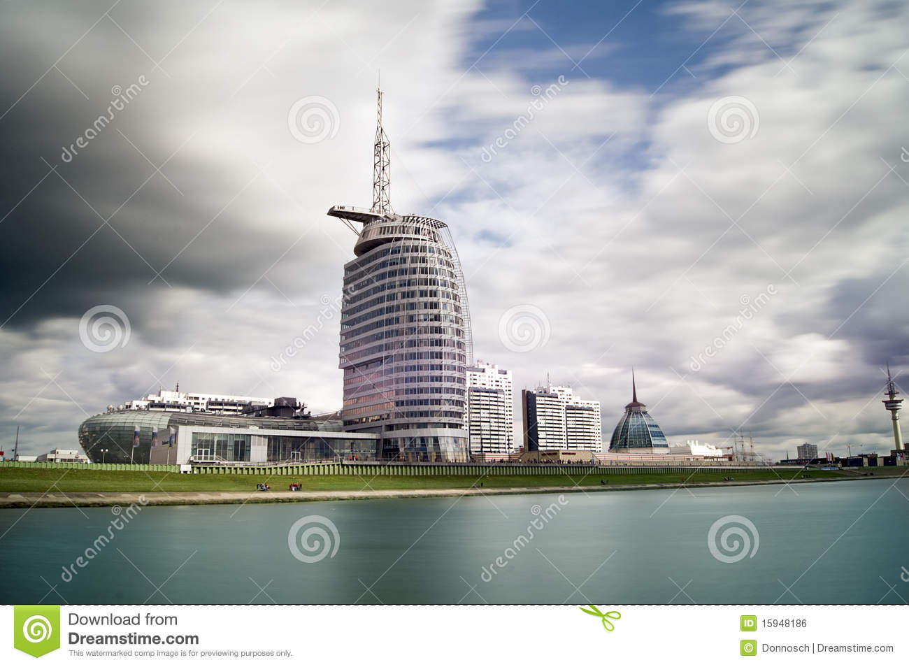 Sail city bremerhaven royalty free stock image image for Design hotel bremerhaven