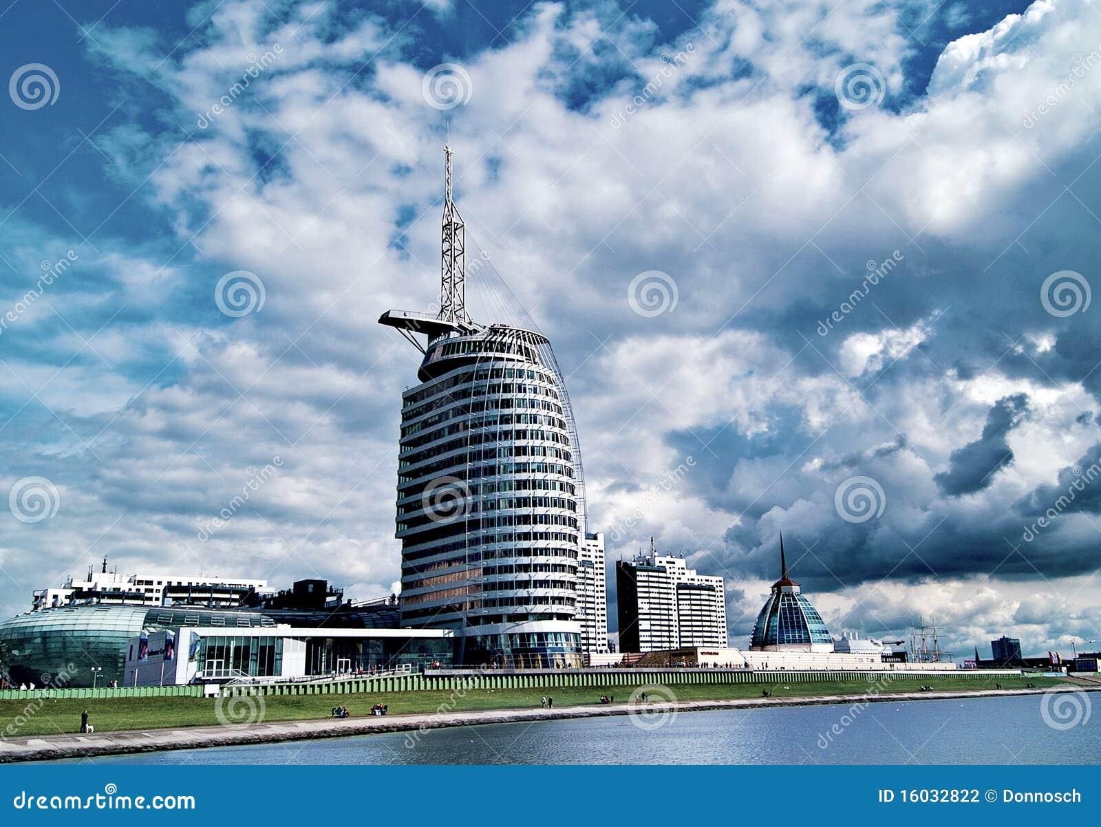 Sail city hotel bremerhaven stock photo image 16032822 for Design hotel bremerhaven