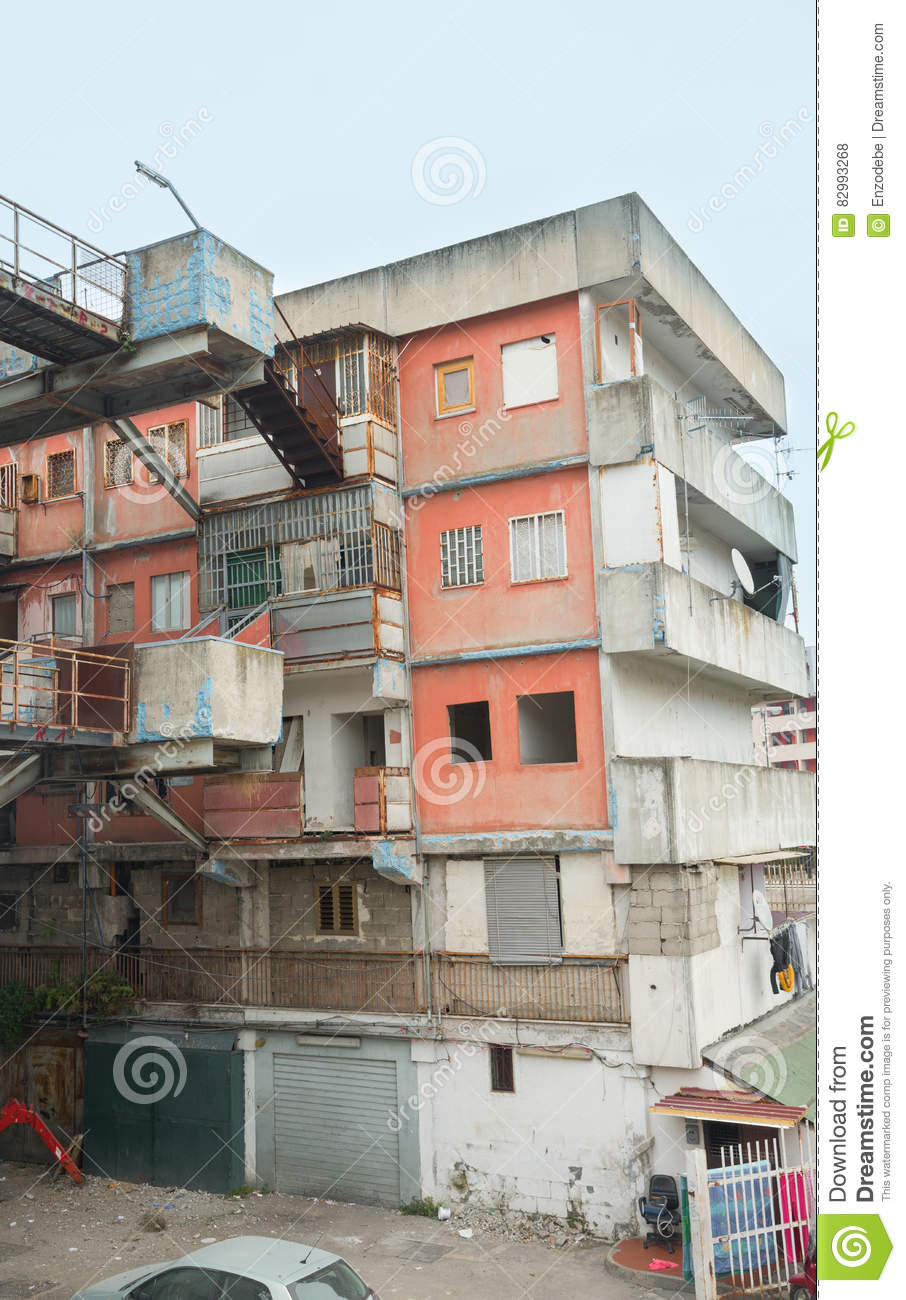 The sail of Scampia - Naples - Italy