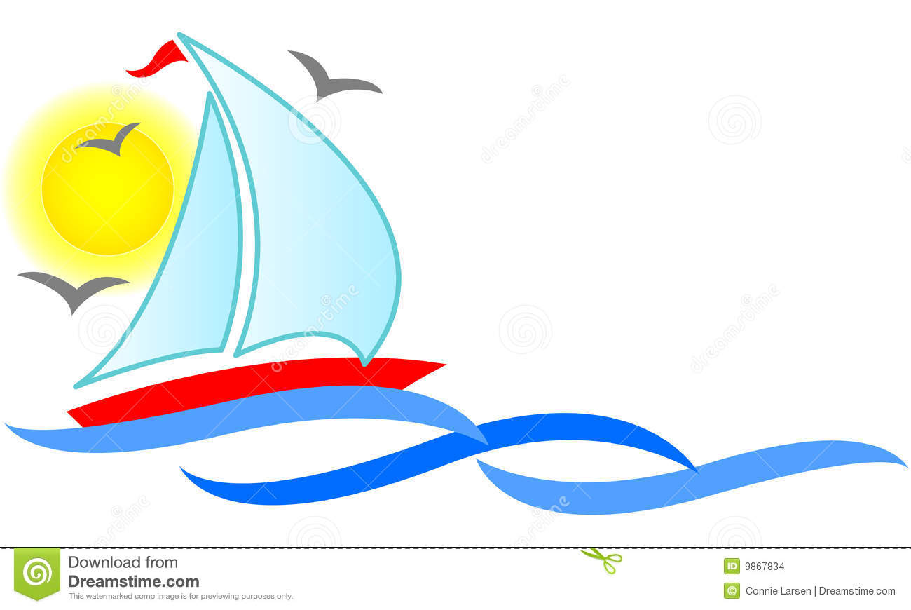 sailboat abstract  eps stock images image 9867834 free vacation clipart images vacation clip art free clip art