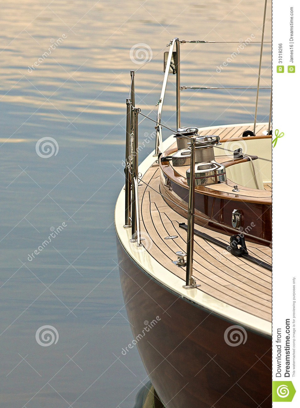 Sailboat in Harbour