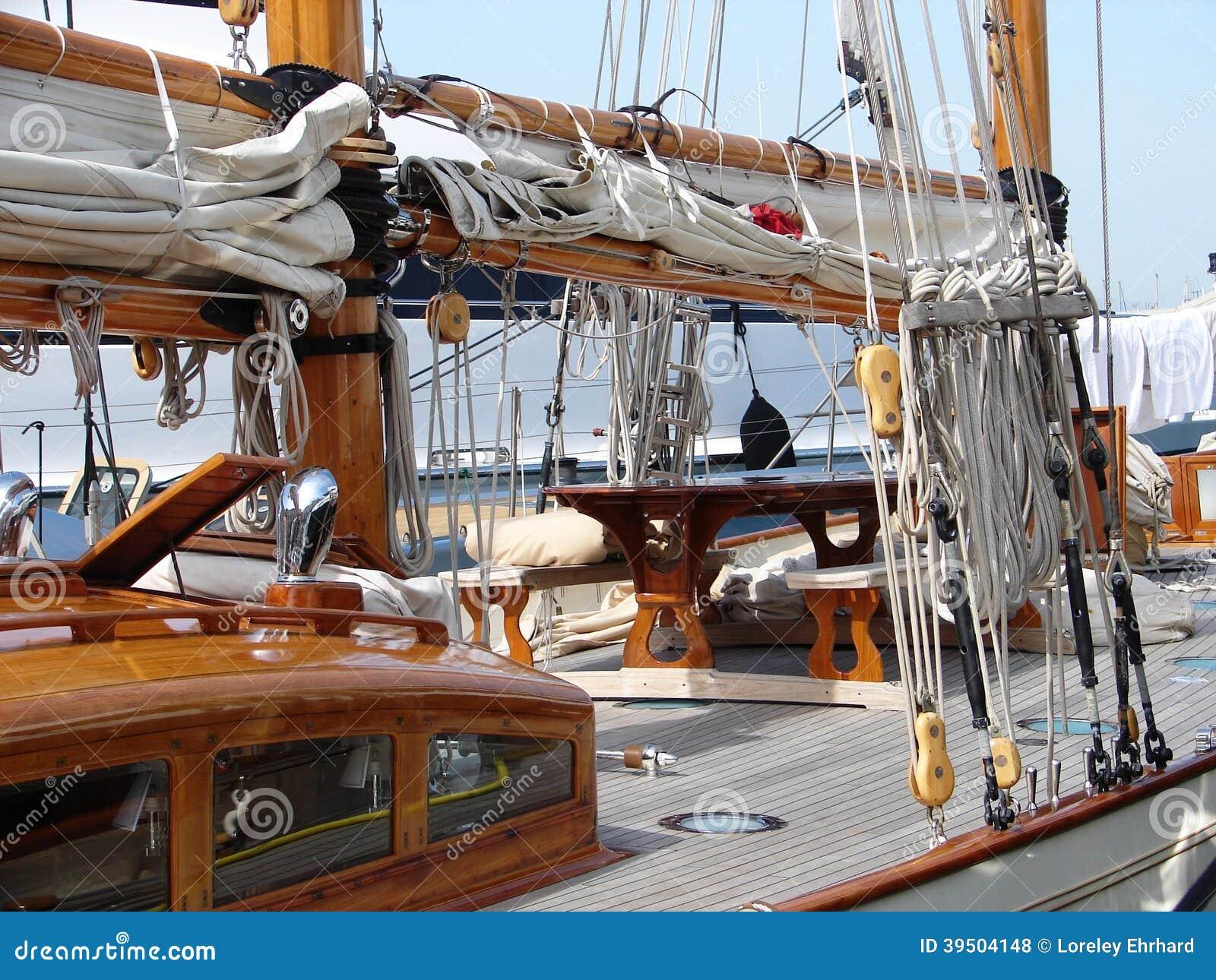 Sailboat at rest.