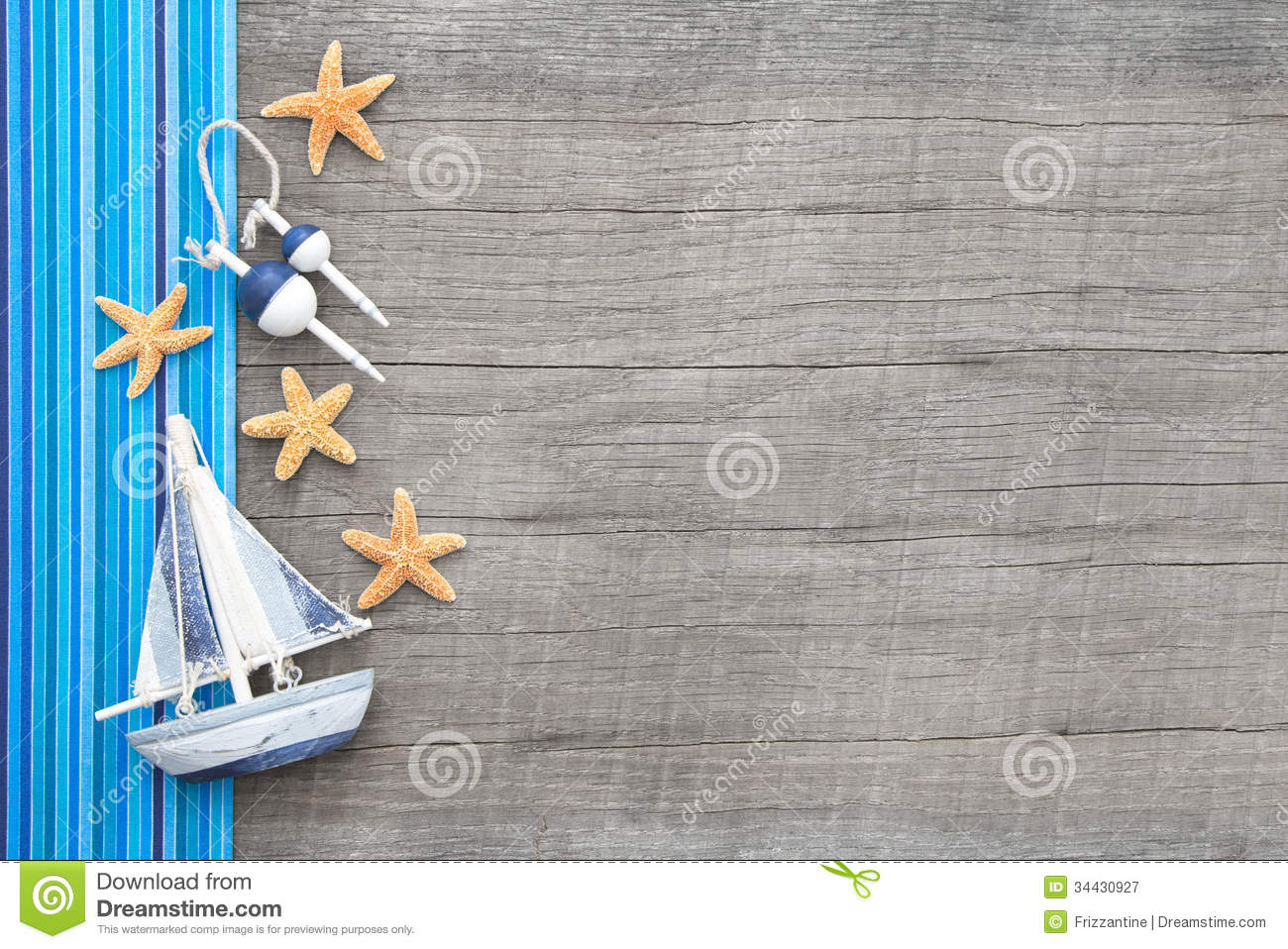 sailboat and starfishes on wooden shabby chic background royalty free stock photography image. Black Bedroom Furniture Sets. Home Design Ideas