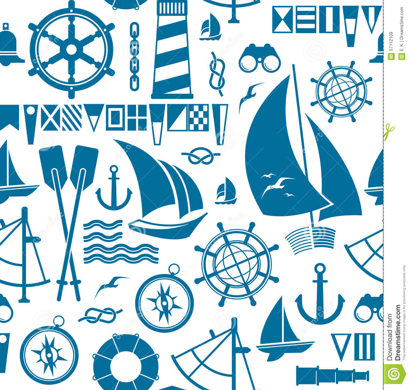 sailing background stock vector illustration of bell 57112109