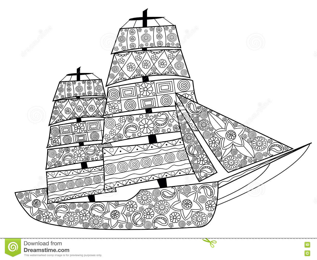 nautical coloring pages for adults - photo#34